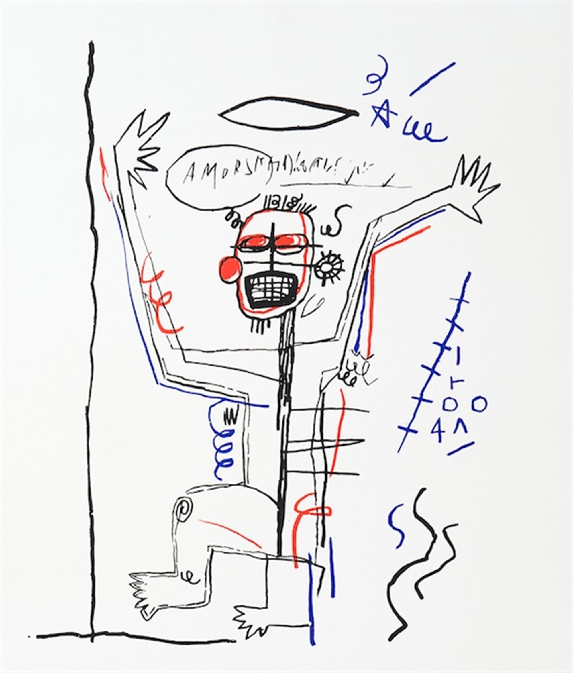 Untitled Delta by Jean-Michel Basquiat