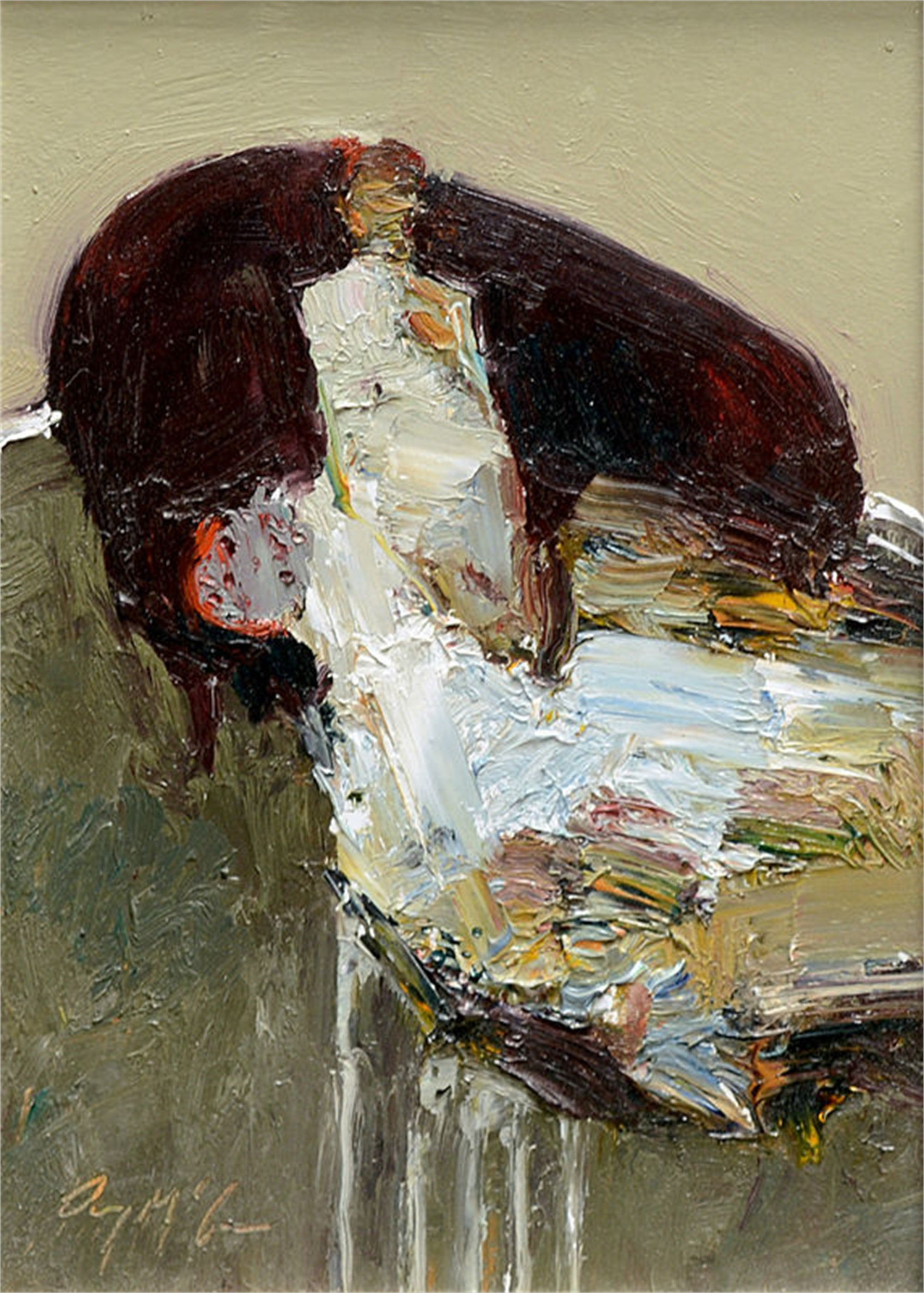 Seated Figure by Danny McCaw