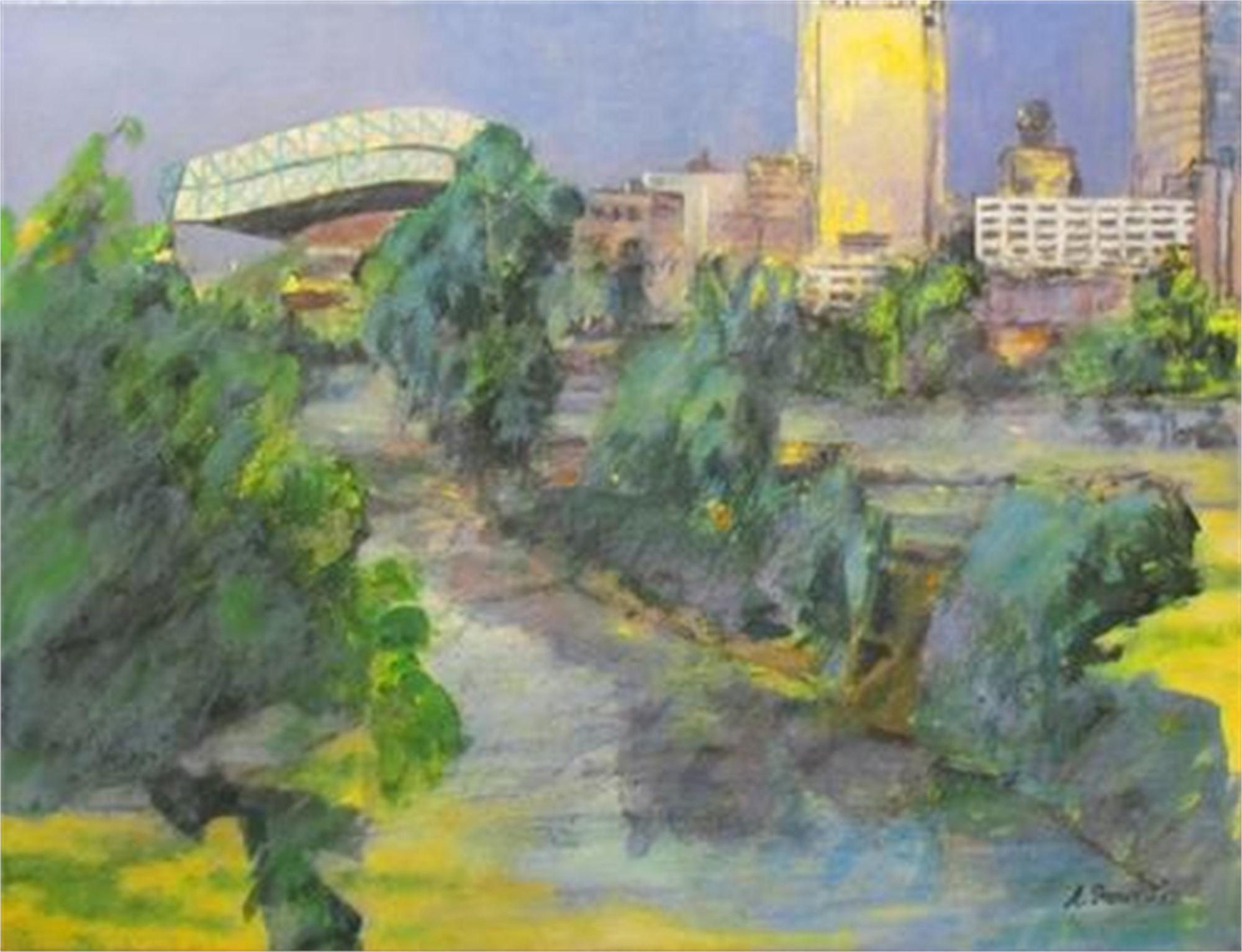 Buffalo Bayou by Richard Stout