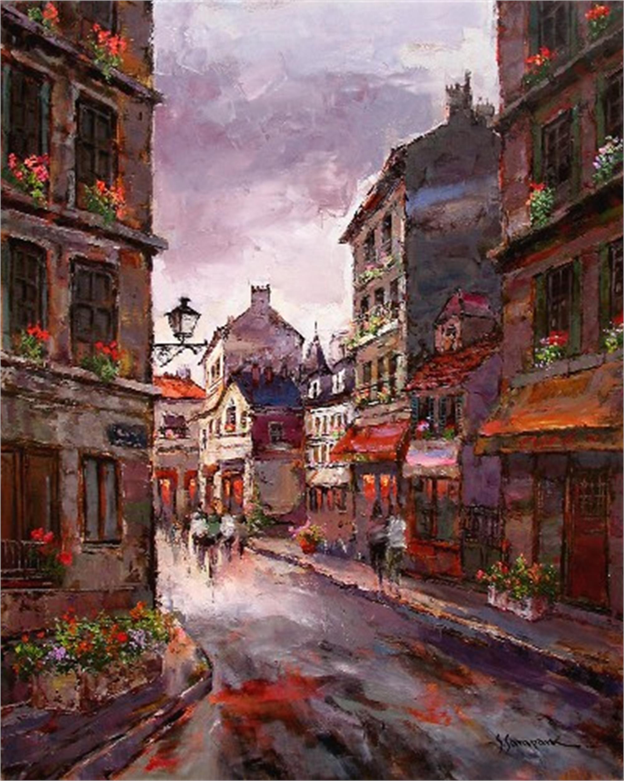 PARIS ST. SCENE by S. PARK