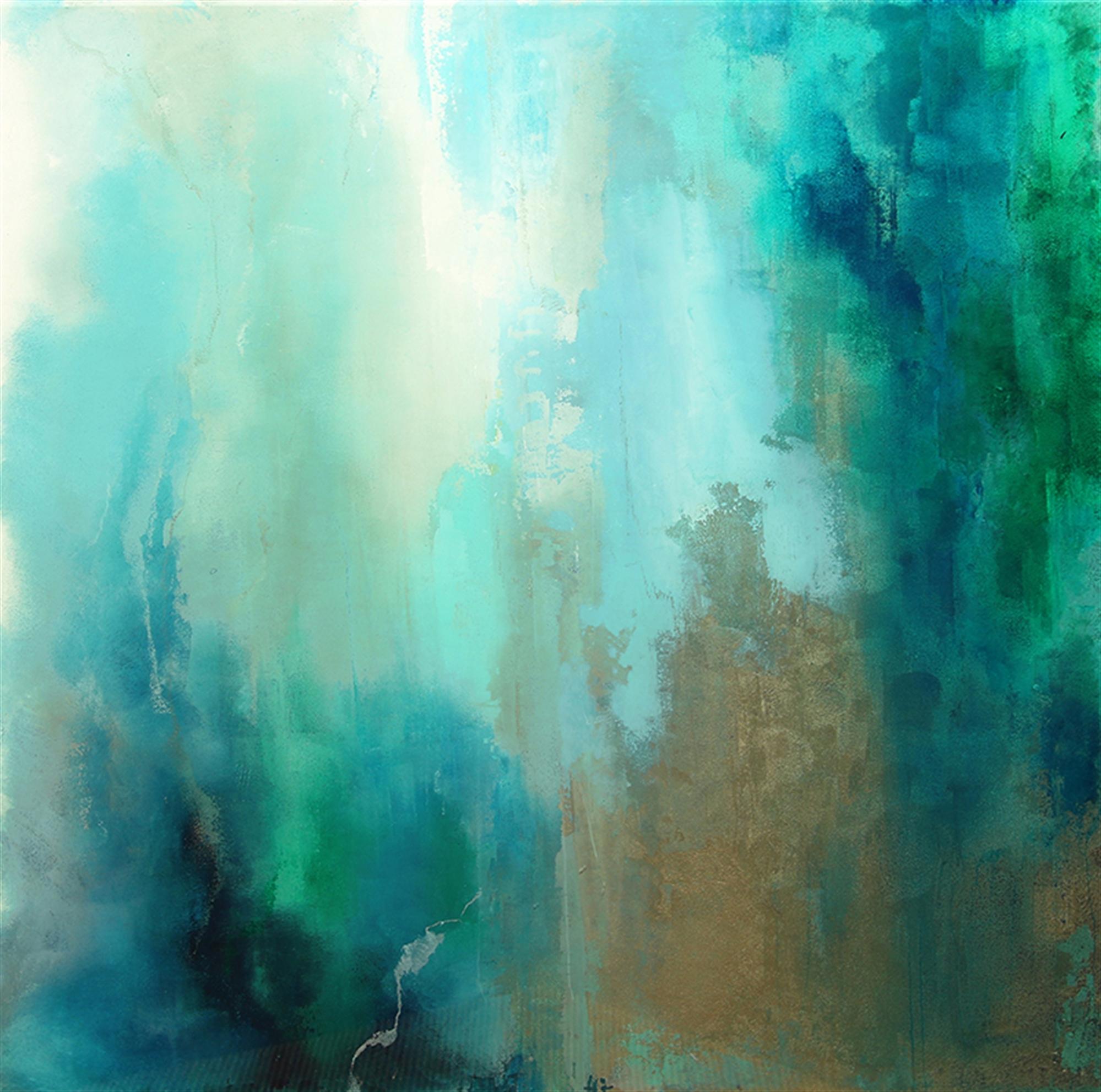 A View Through Aqua Seas by Katherine Houston