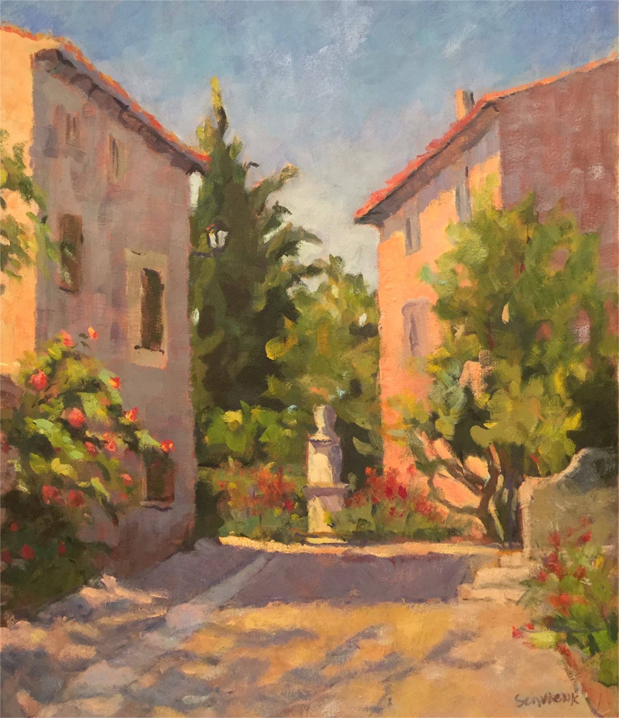 Bright Day in Provence by Sharon Schwenk