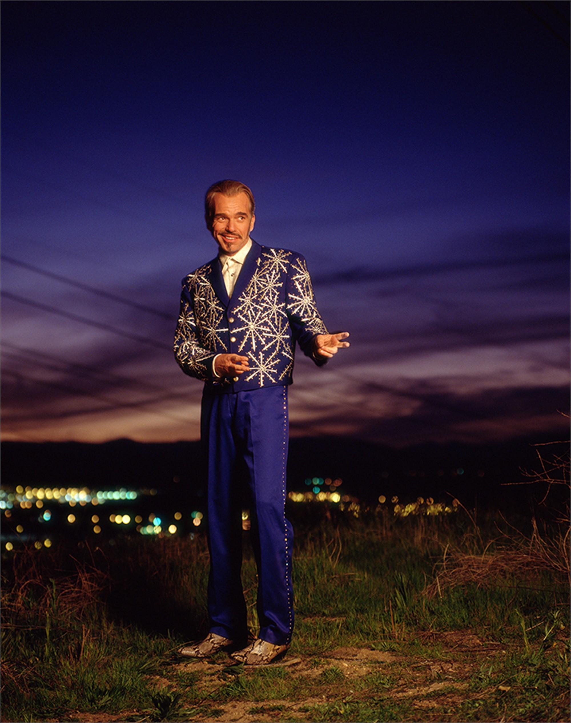 00030 Billy Bob Thornton Purple Sky Color by Timothy White