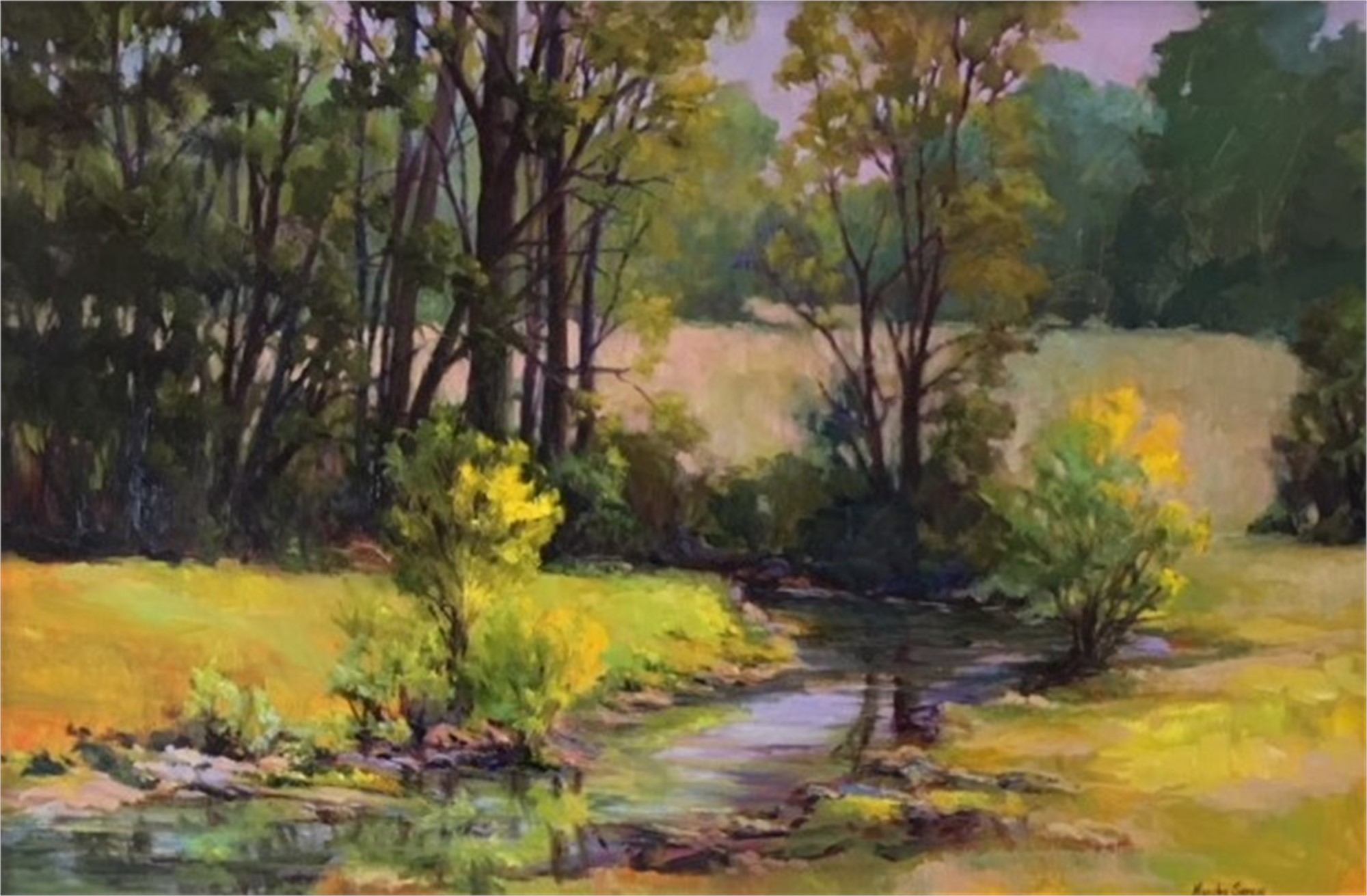 Morning Creek by Marsha Hamby Savage