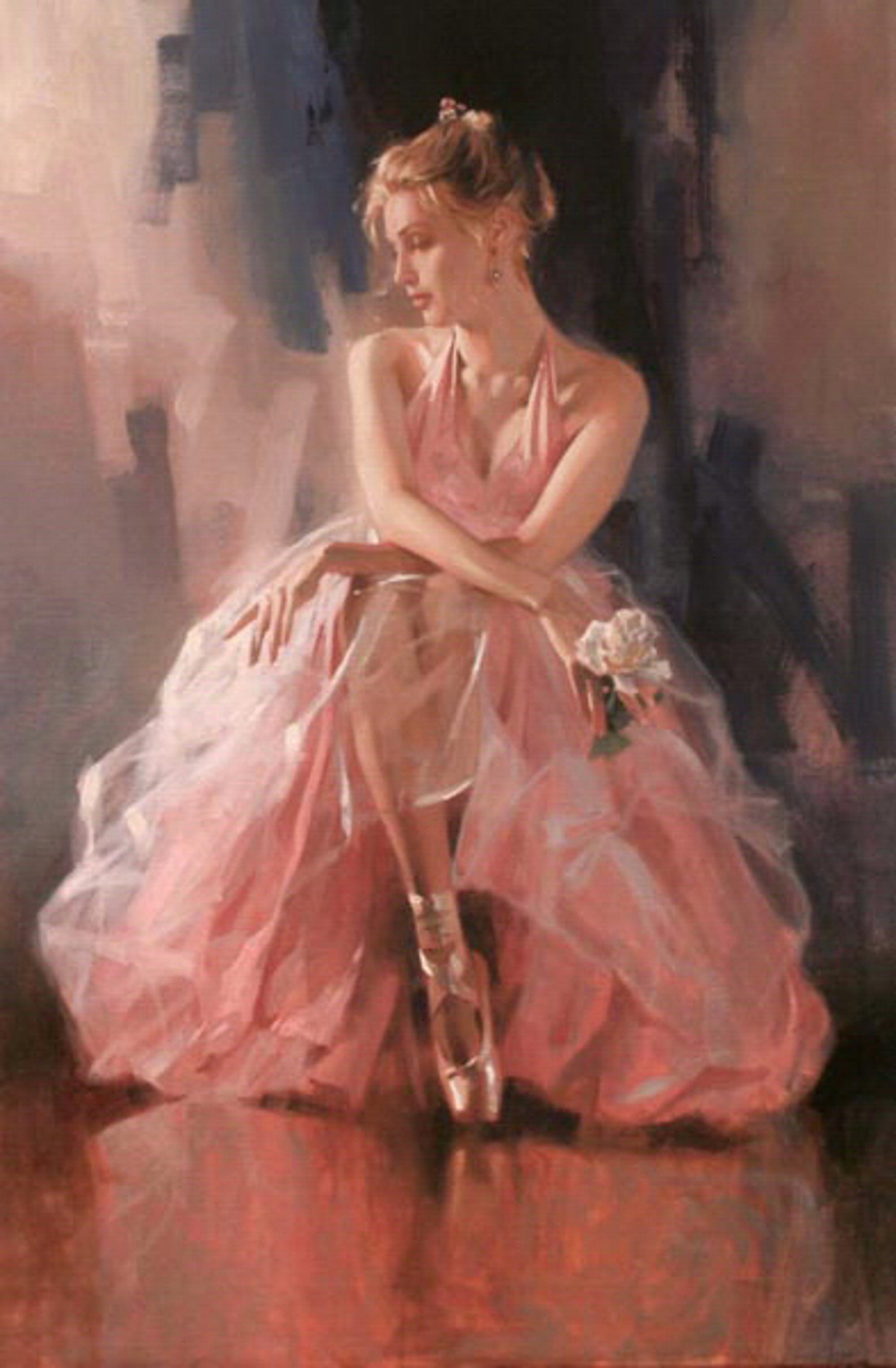 Rose Slipper by Richard Johnson