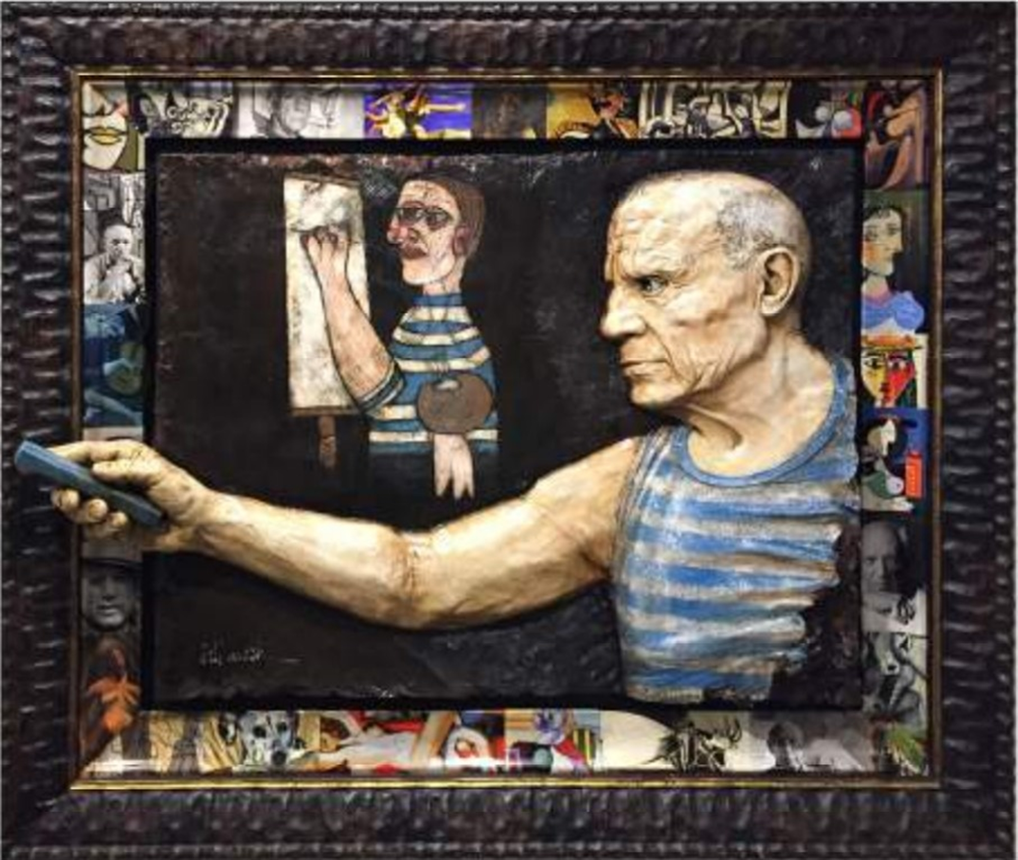 Picasso Original Relief by Bill Mack