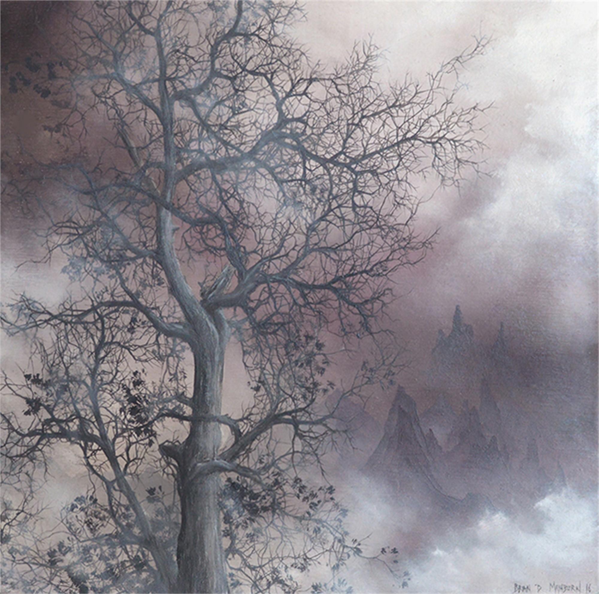 Mist Shrouded Tree by Brian Mashburn