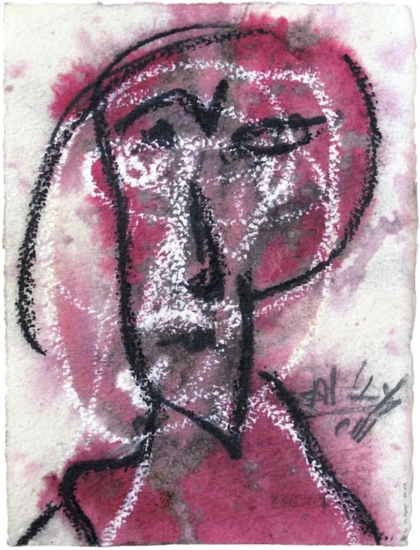 Untitled (Portrait) by Alejandro Santiago