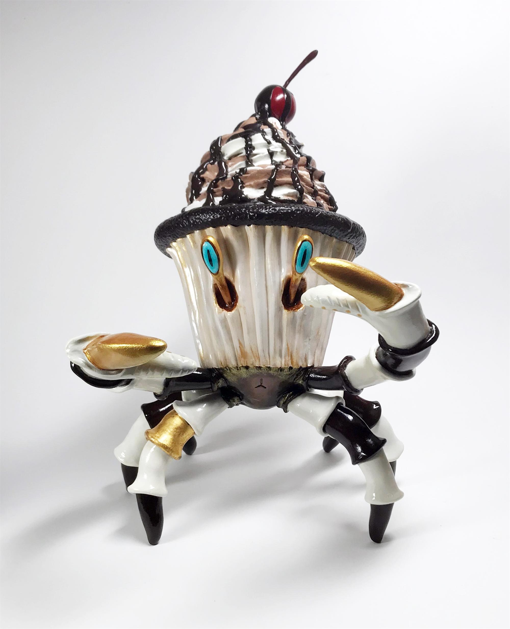 Golden Chocolate Crabcake (Goldie) by Corina St. Martin