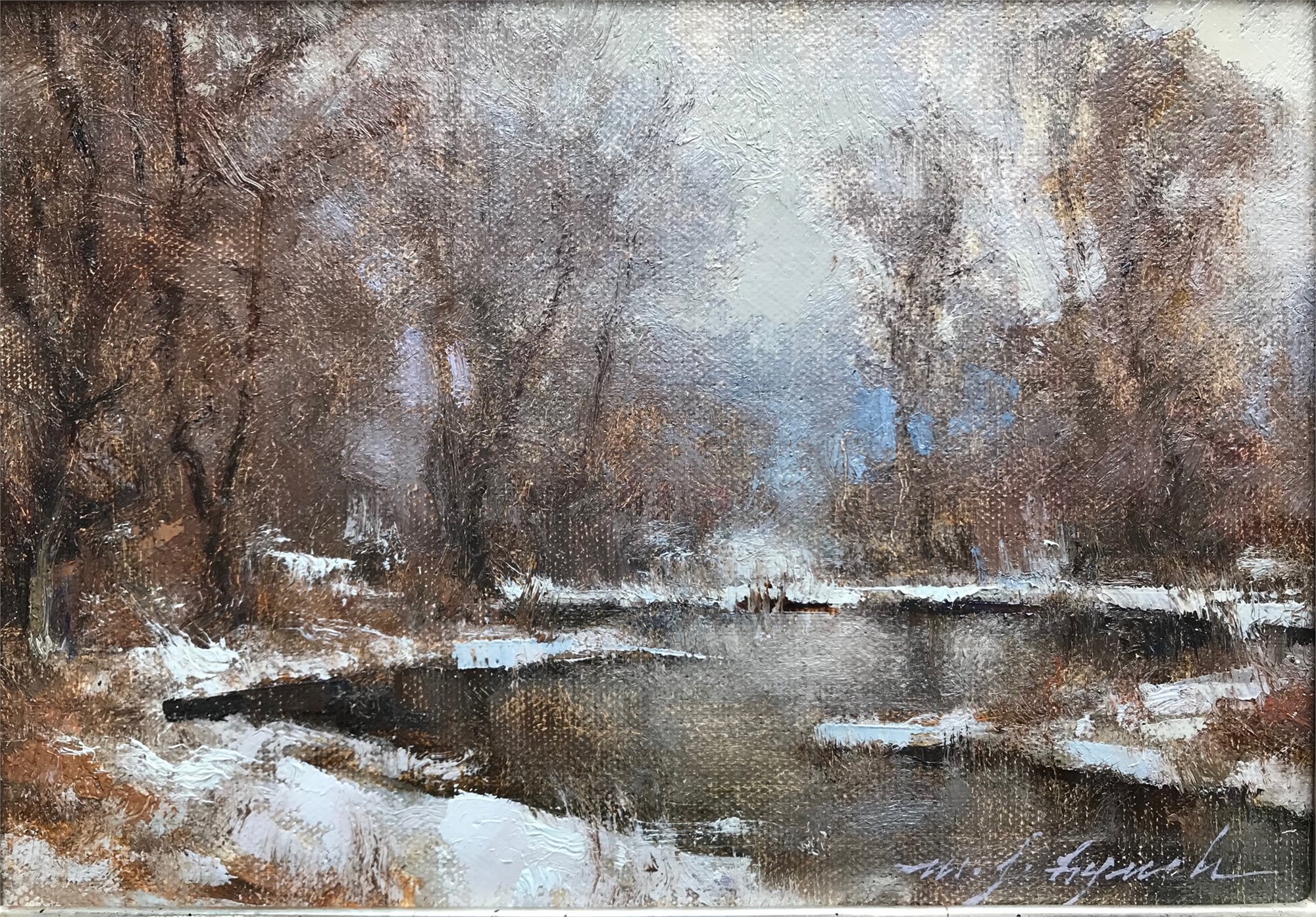 March Overcast by Michael J Lynch