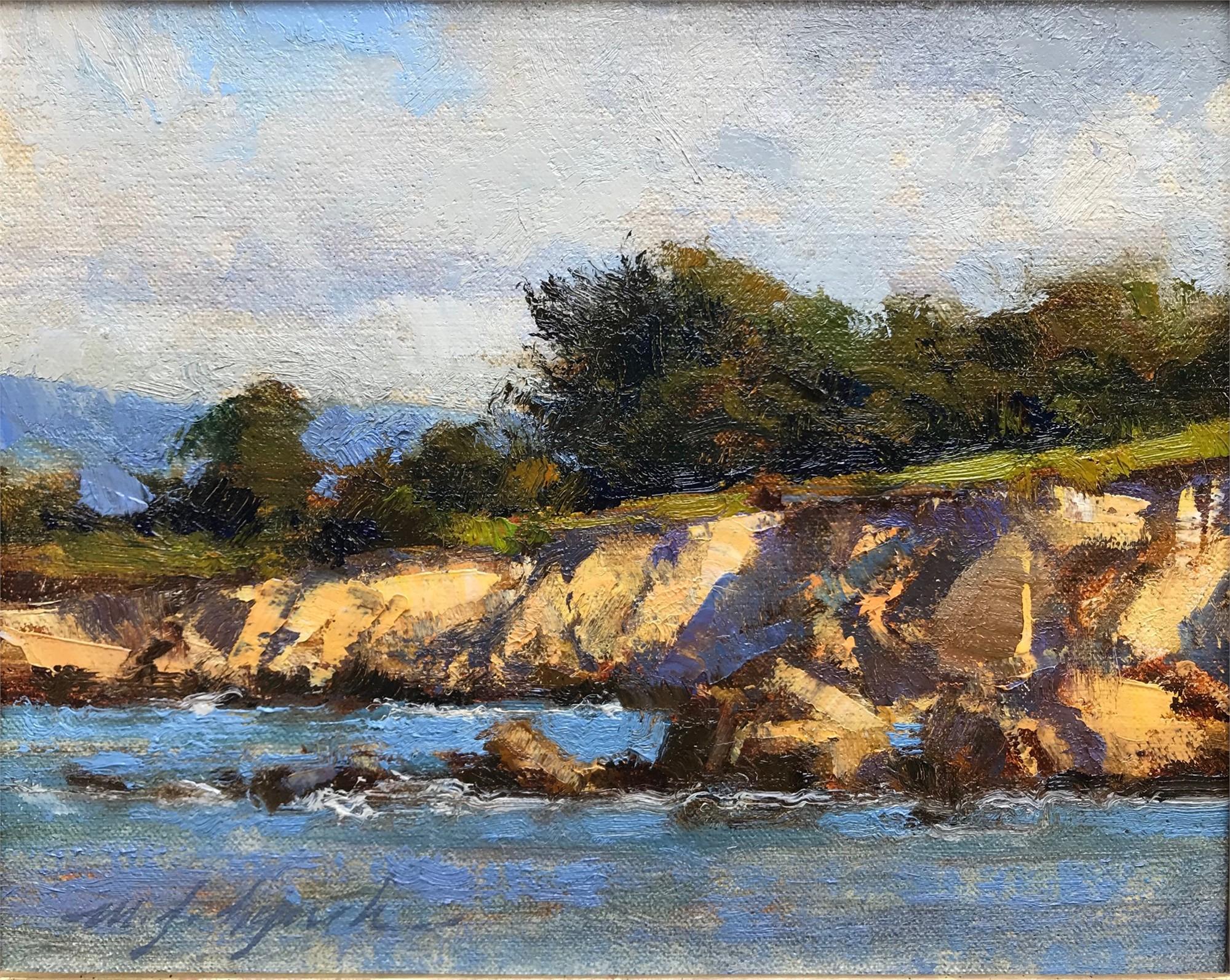Sunstruck Cove by Michael J Lynch