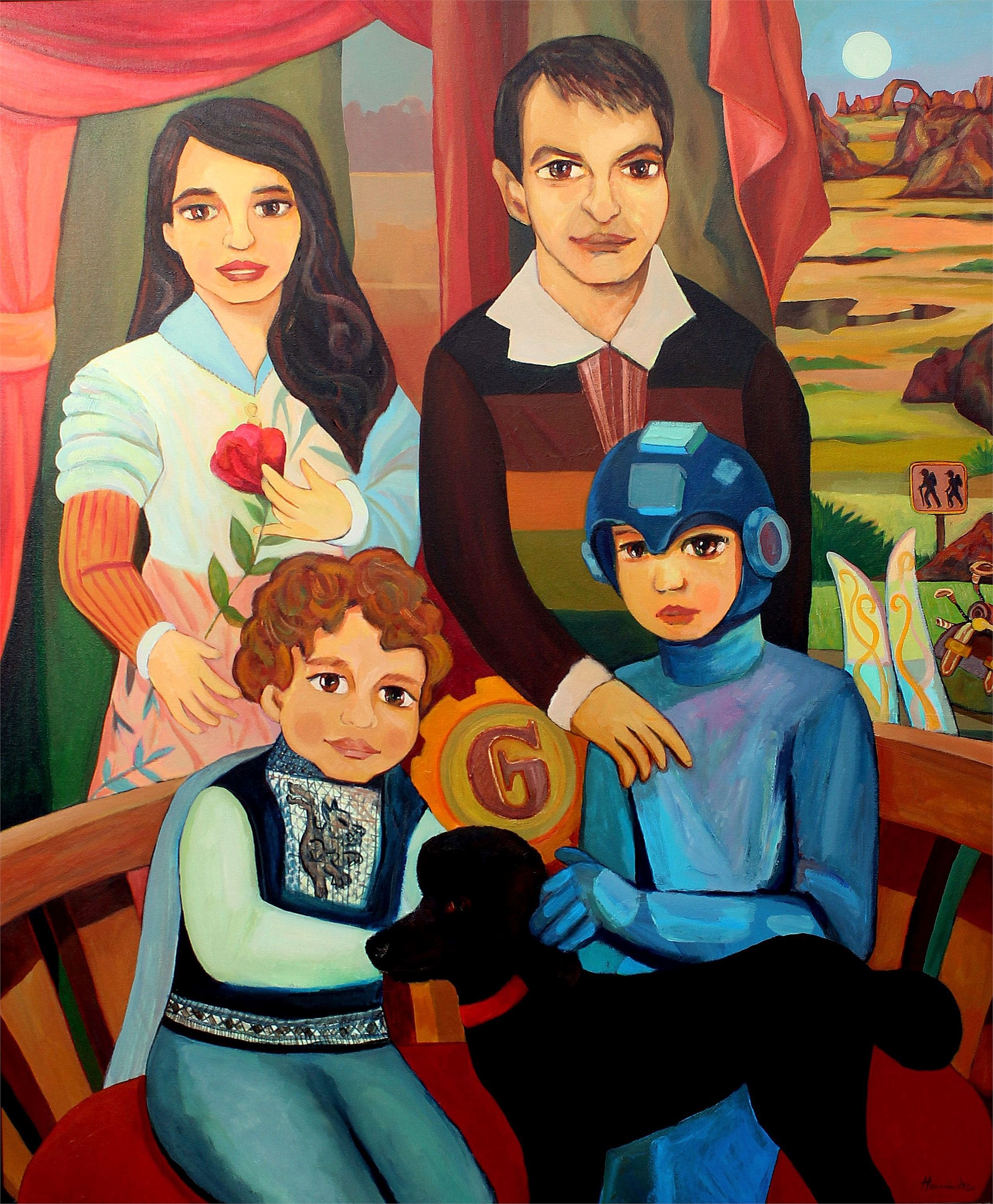 Family Portrait | William Hernandez by Commissioned Project