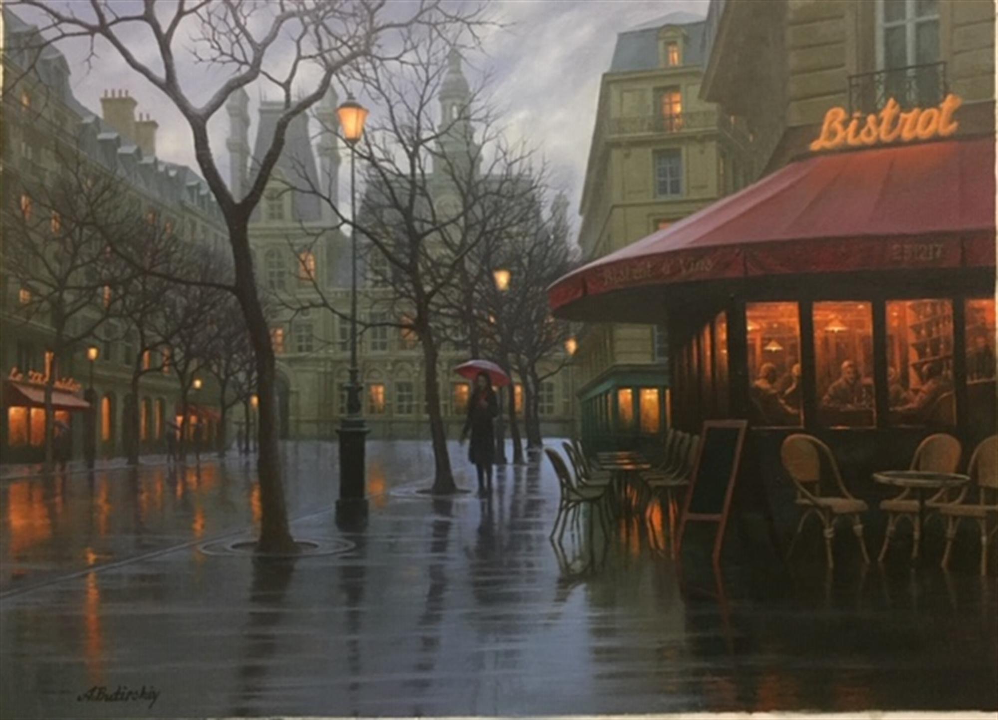 Rainy Day Paris by Alexei Butirskiy