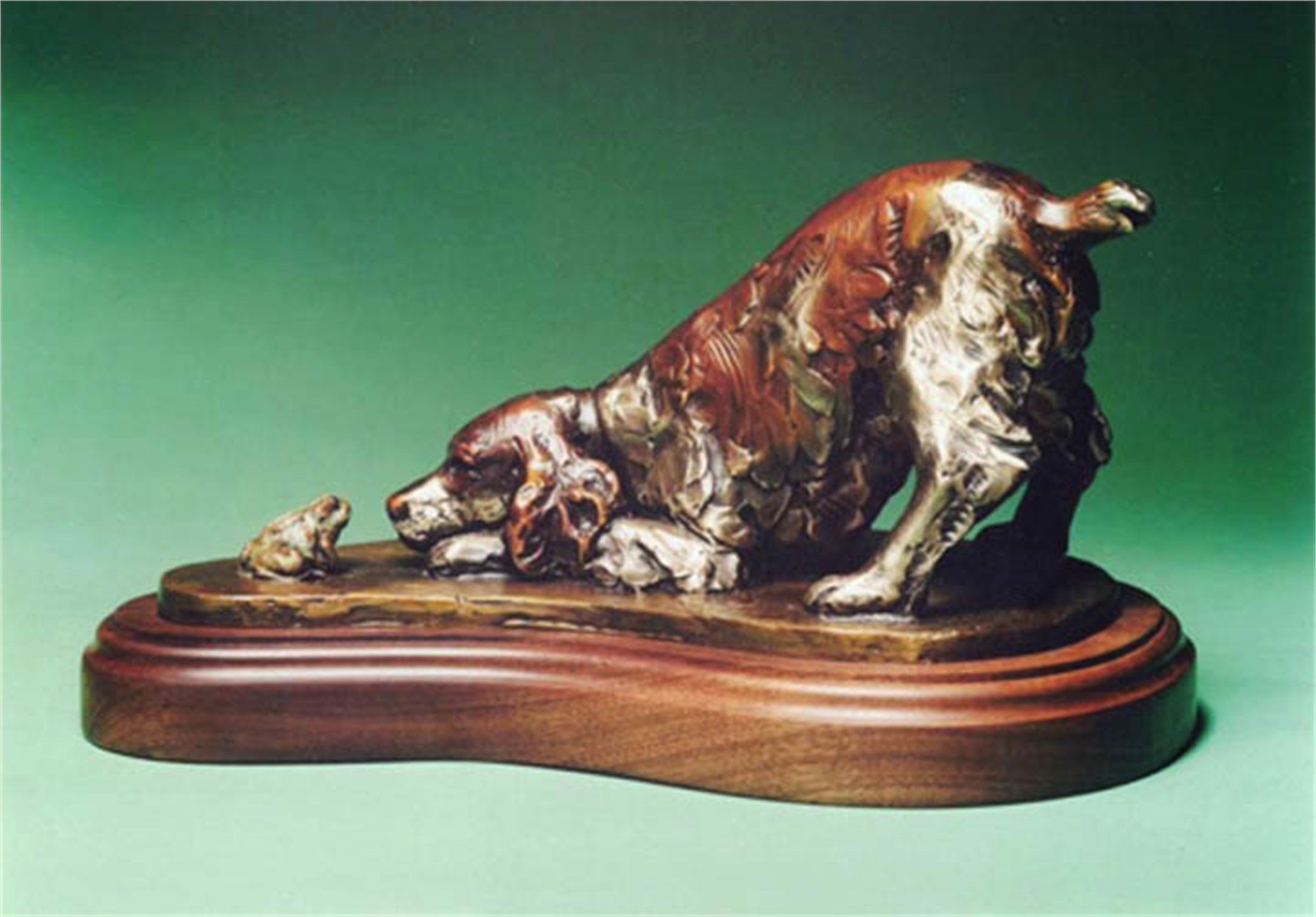 Two Springers by George Lundeen