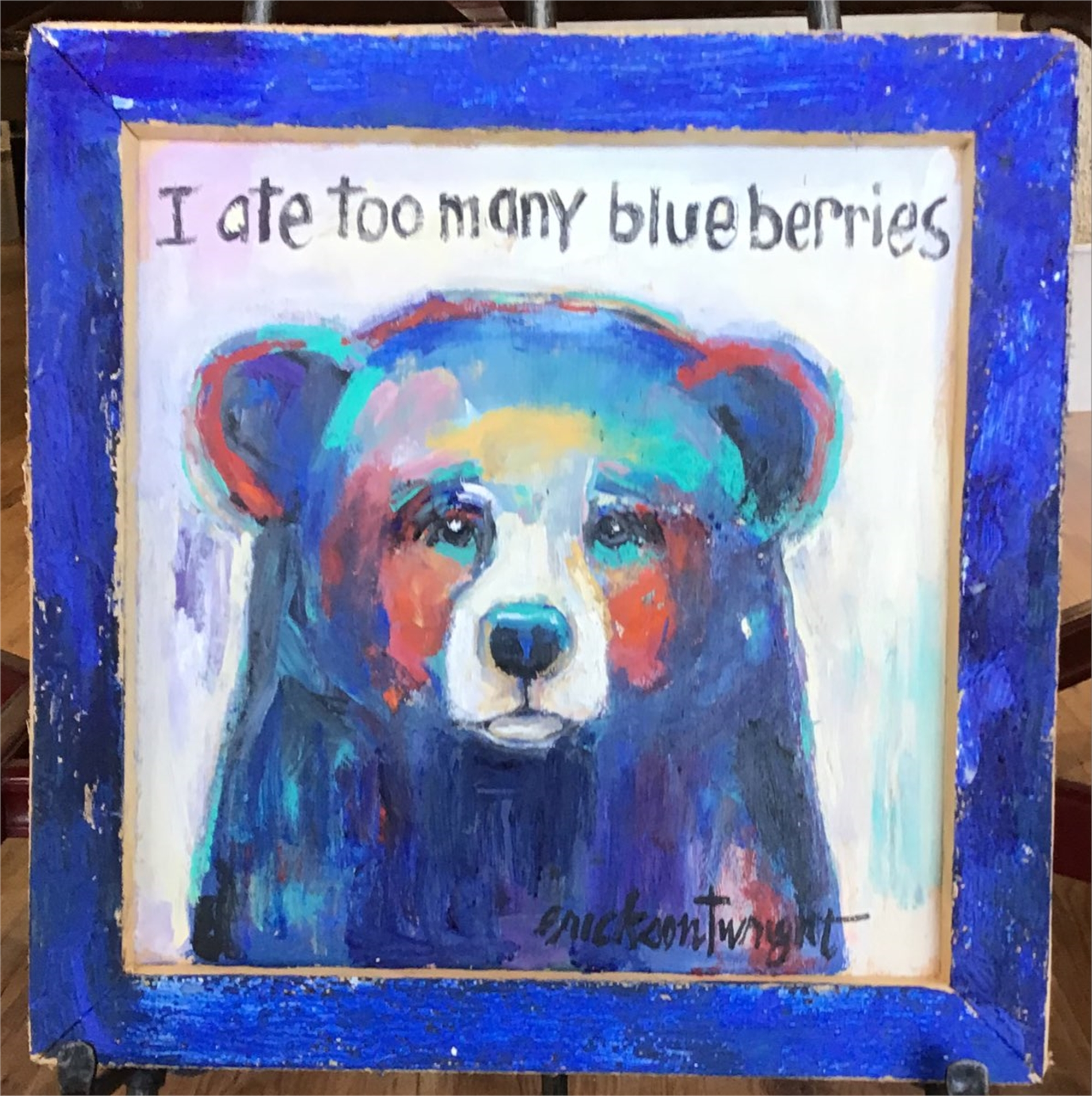 Blueberries 2 by Sandra Erickson Wright
