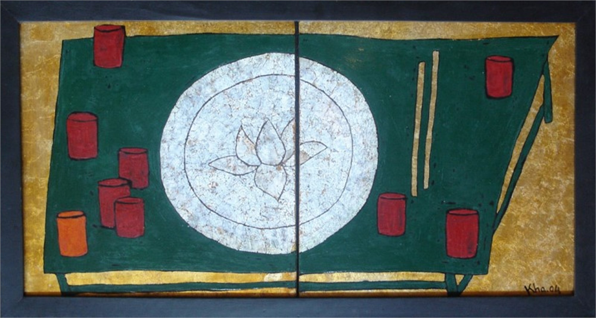 A Common Plate II by Bui Cong Khanh