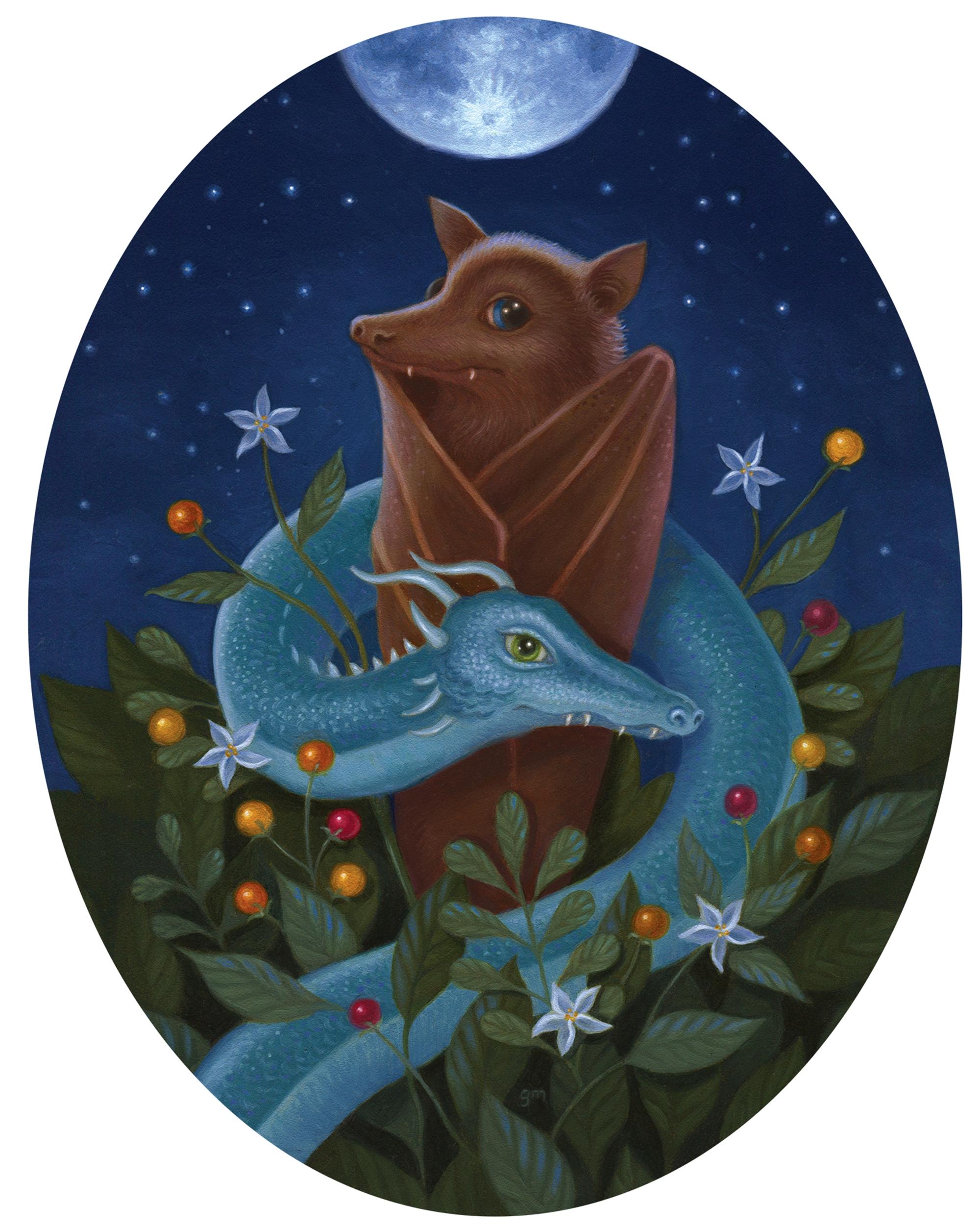 Toothy Twosome by Gina Matarazzo