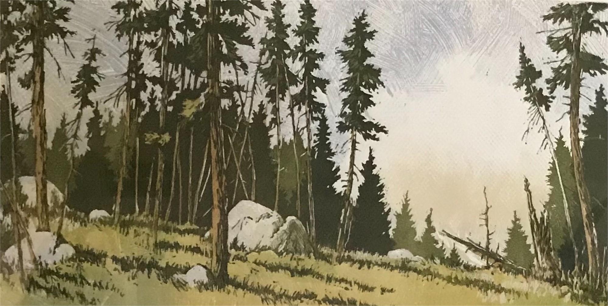 Meridian Ridge by Leon Loughridge