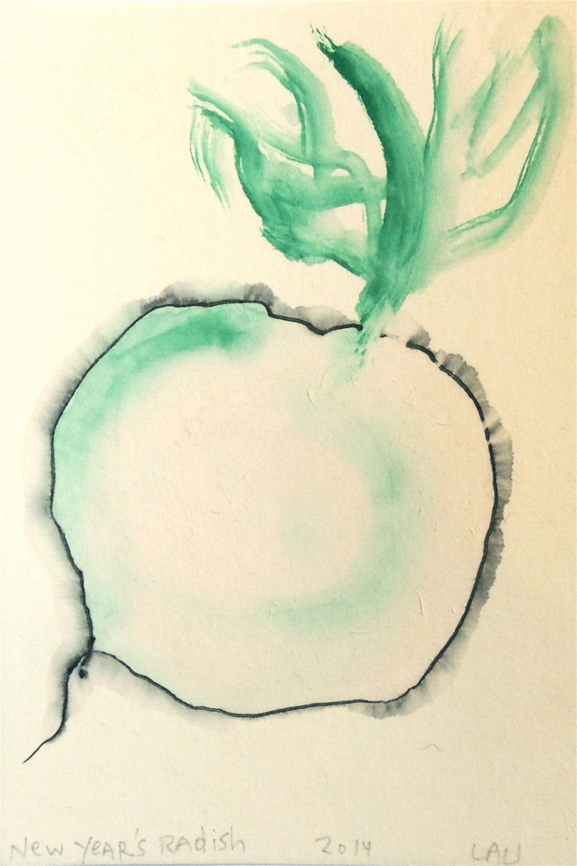 new year's radish by Alan Lau