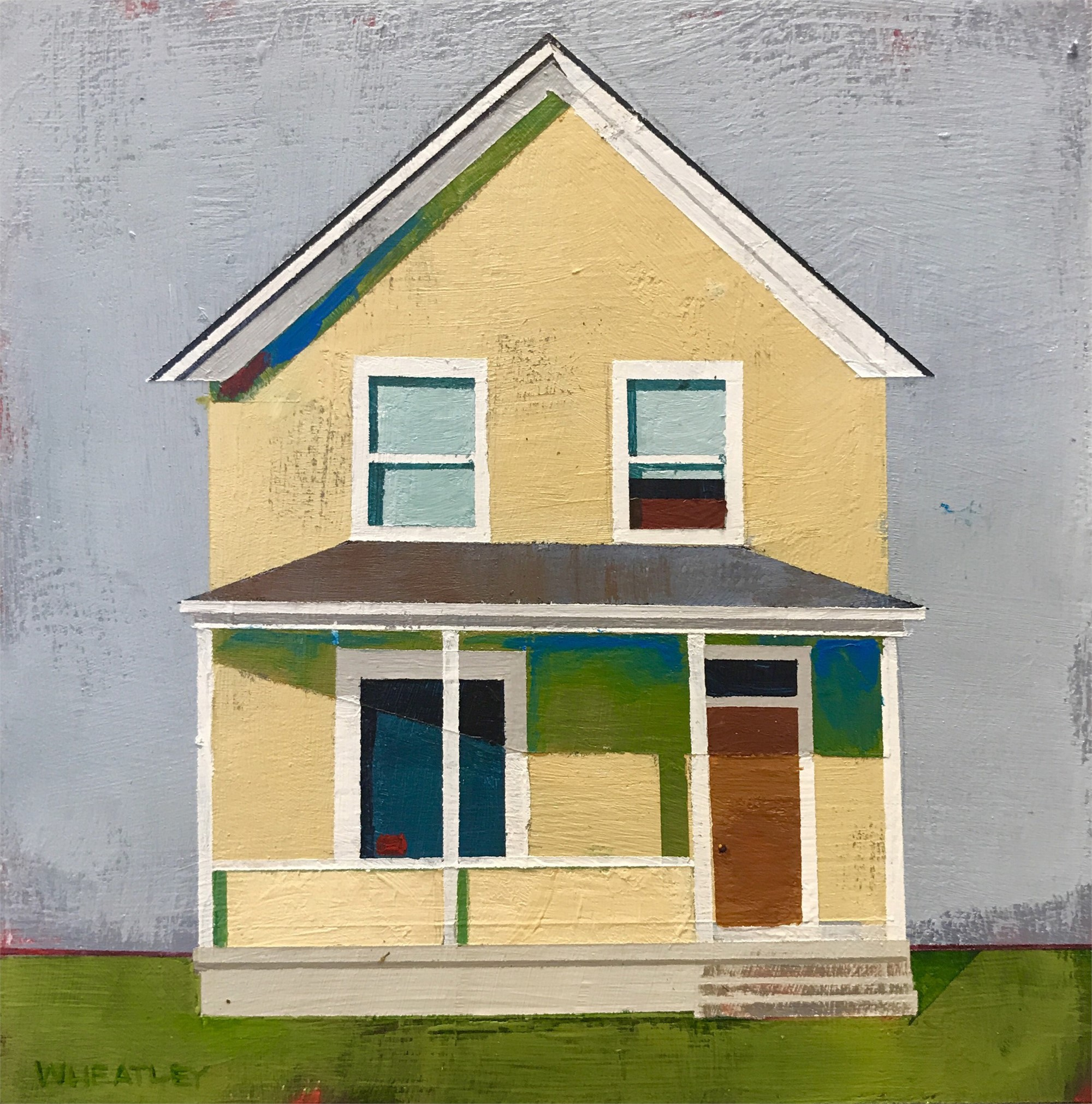 House on Almond Street by Justin Wheatley