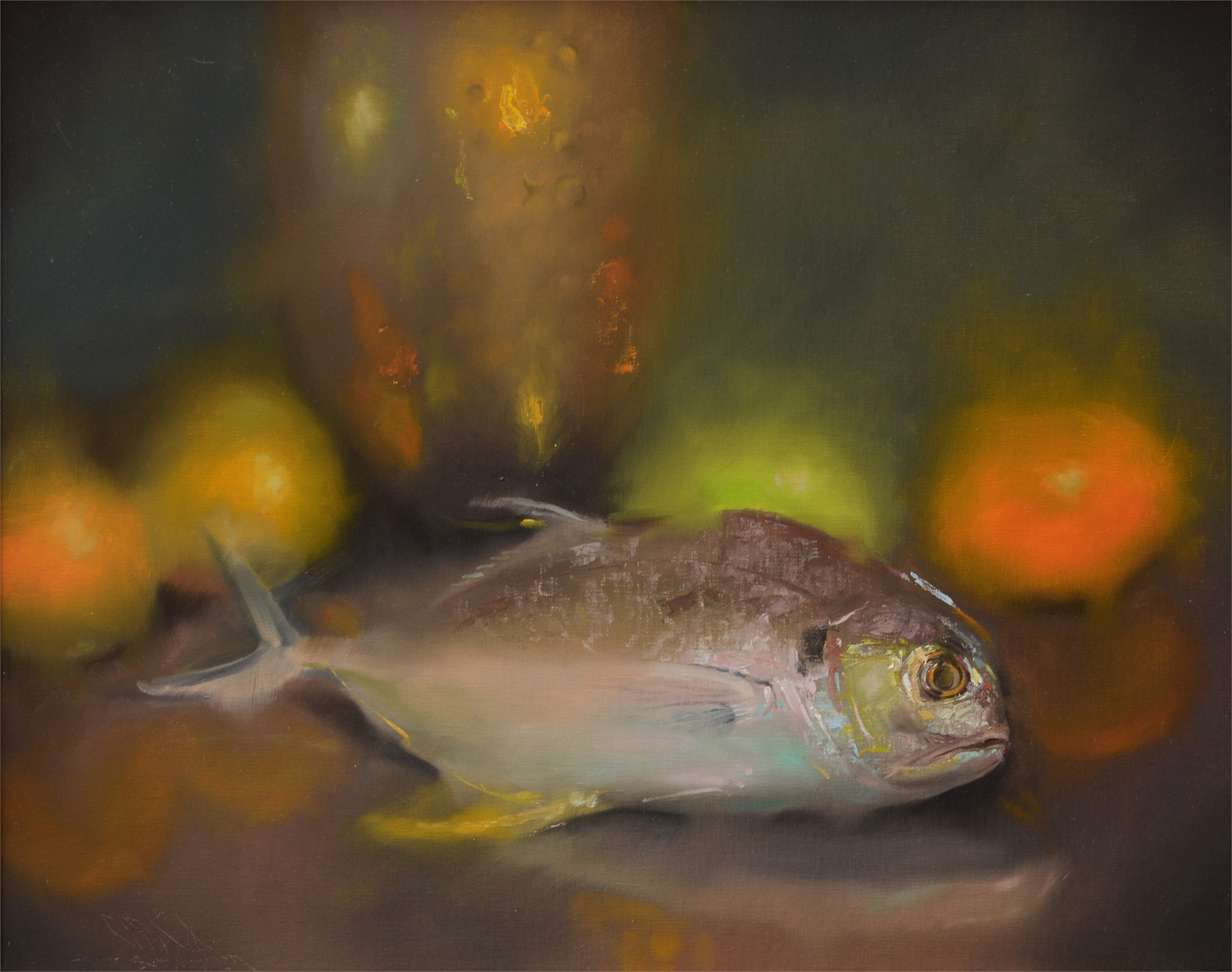 Fish Still Life by C.W. Mundy