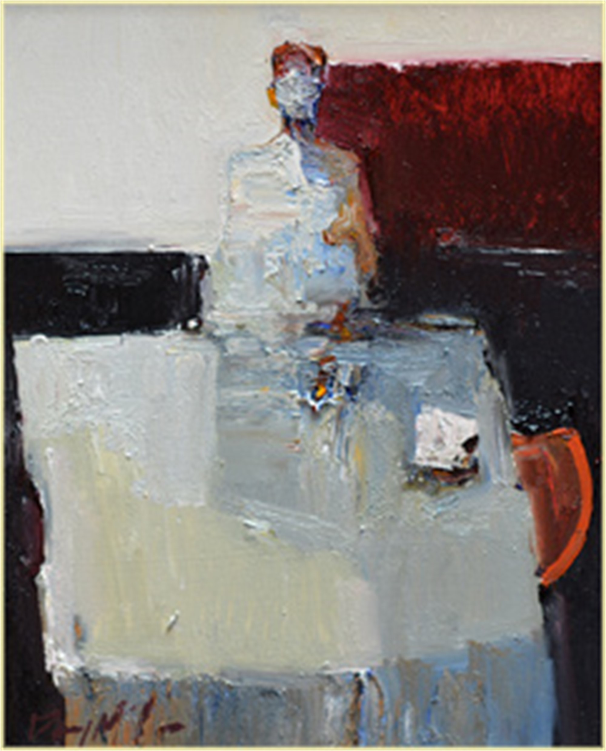 Plate on Table by Danny McCaw
