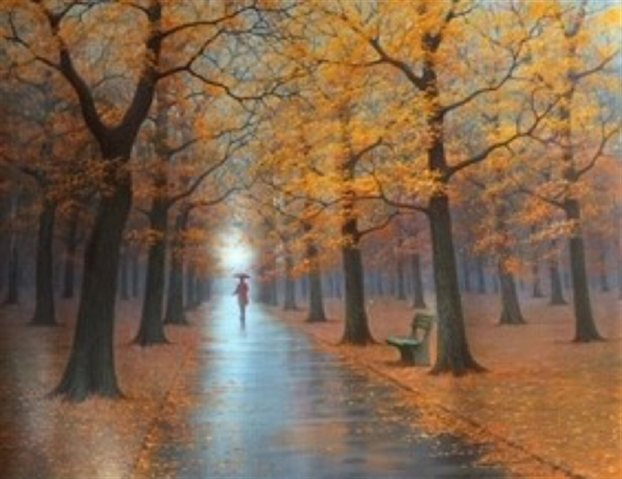 Autumn Silence by Alexei Butirskiy