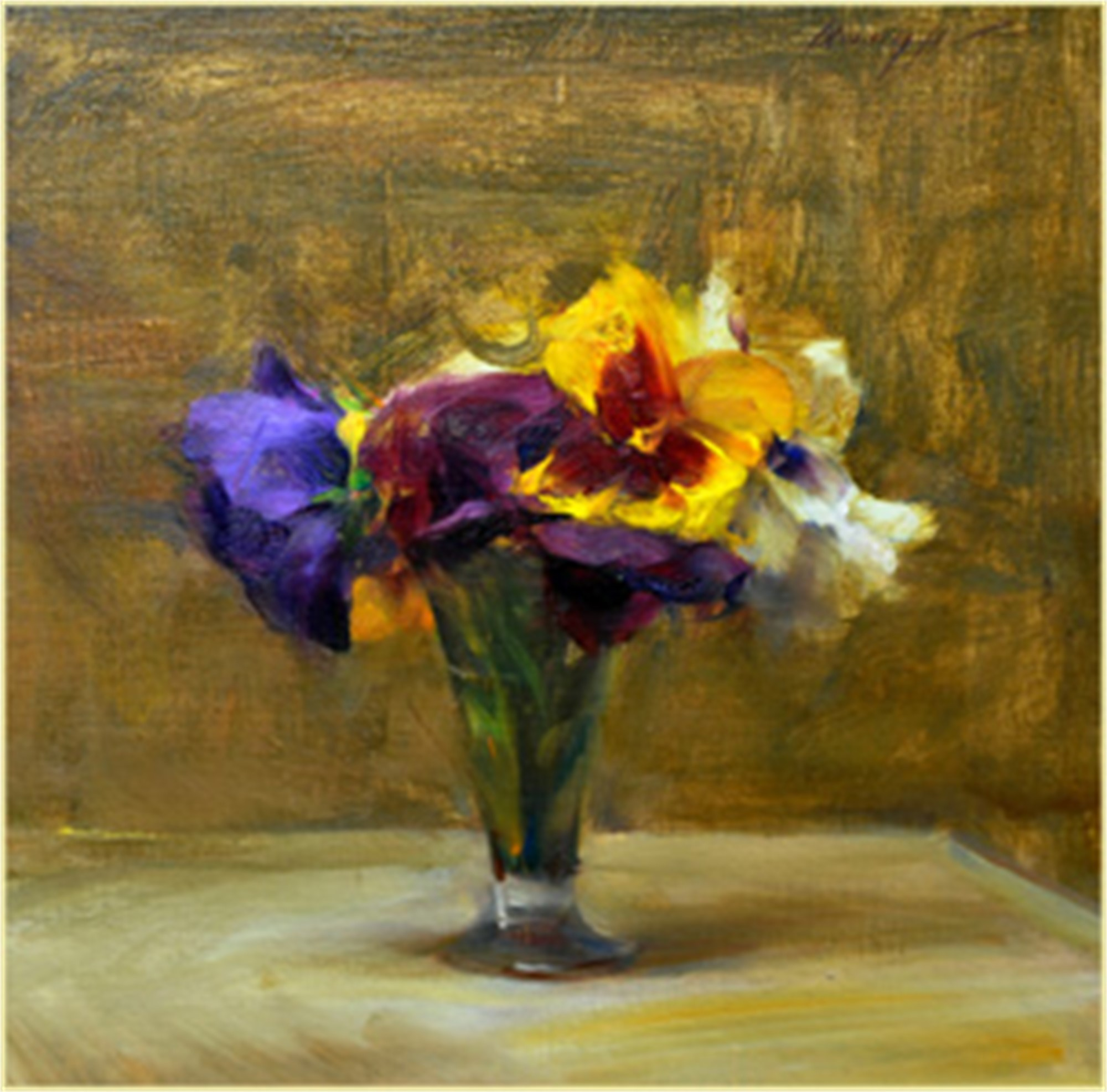 Pansies by Quang Ho