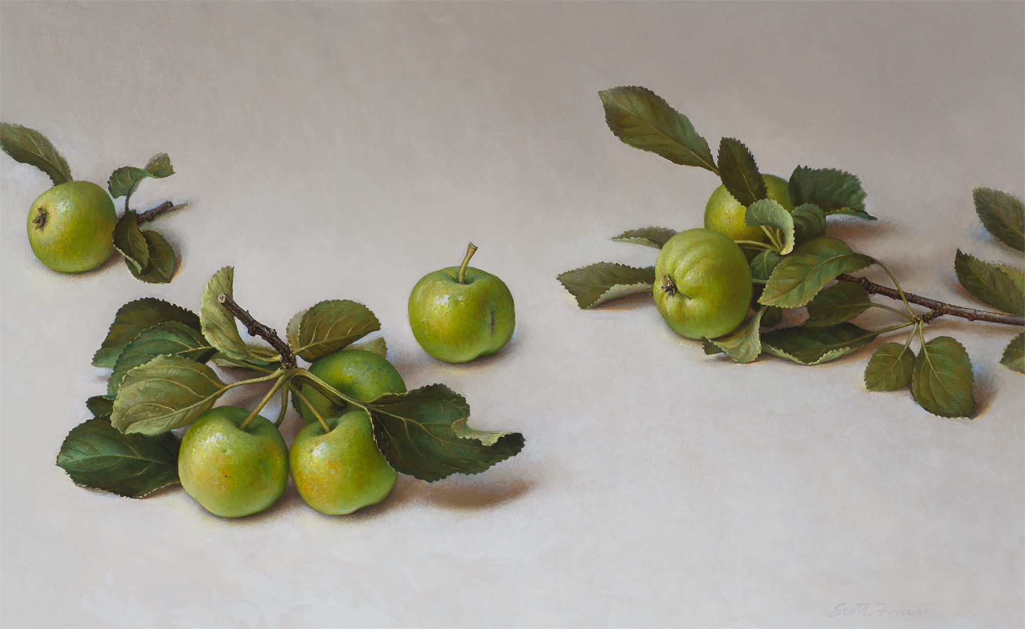 Green Apples by Scott Fraser