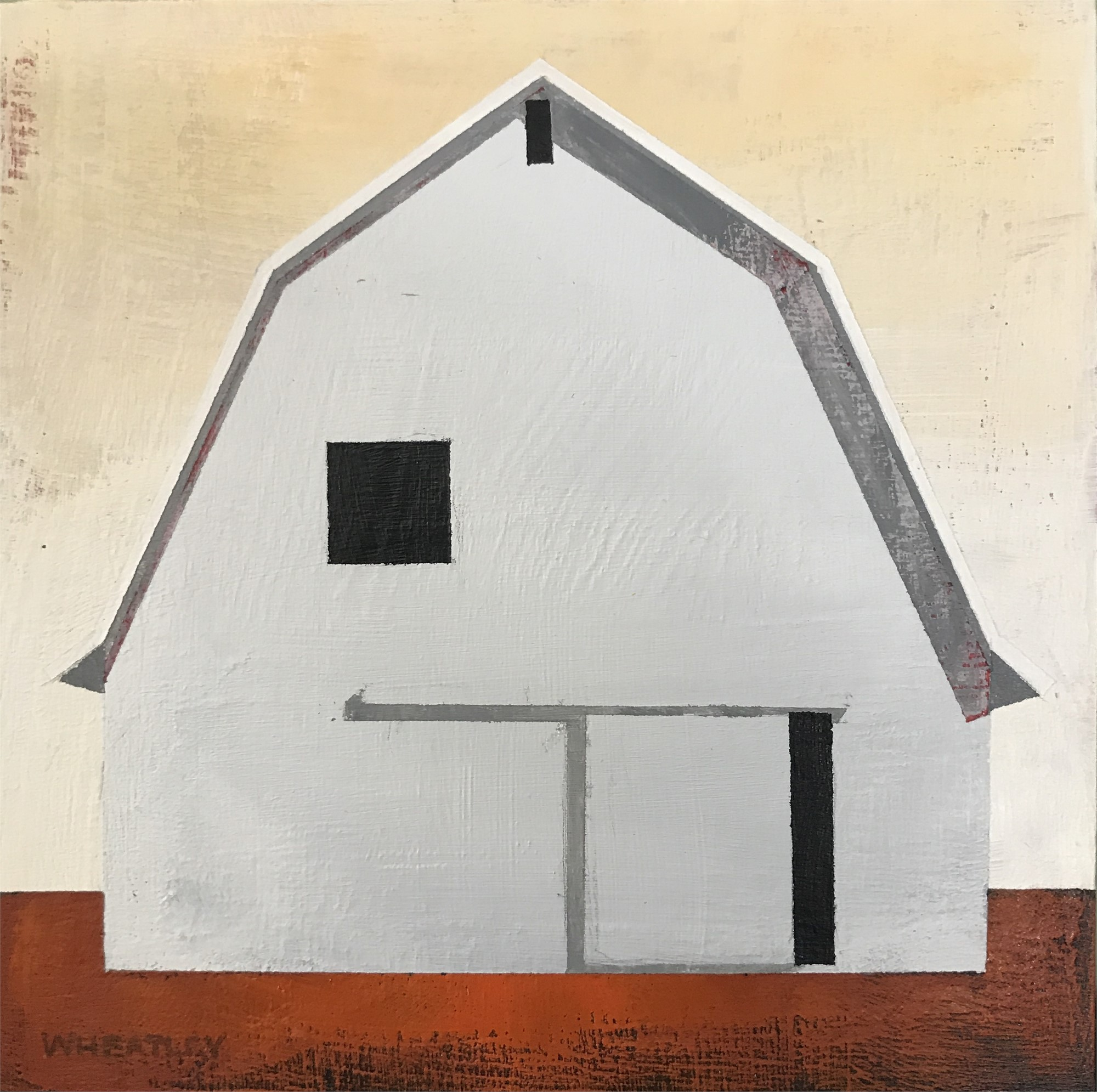 White Barn III by Justin Wheatley