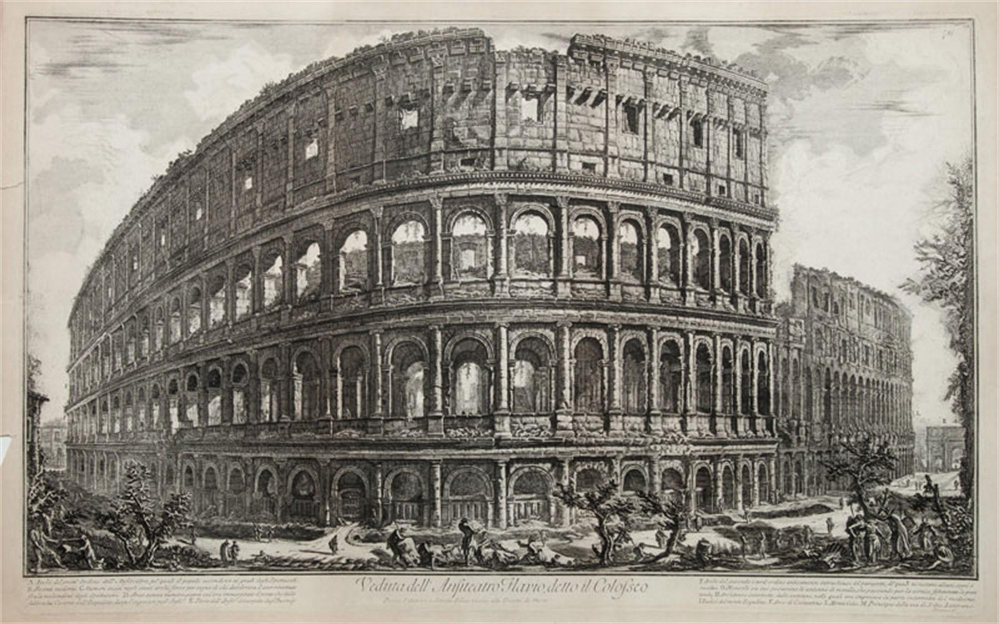 Colosseum by Francesco Piranesi