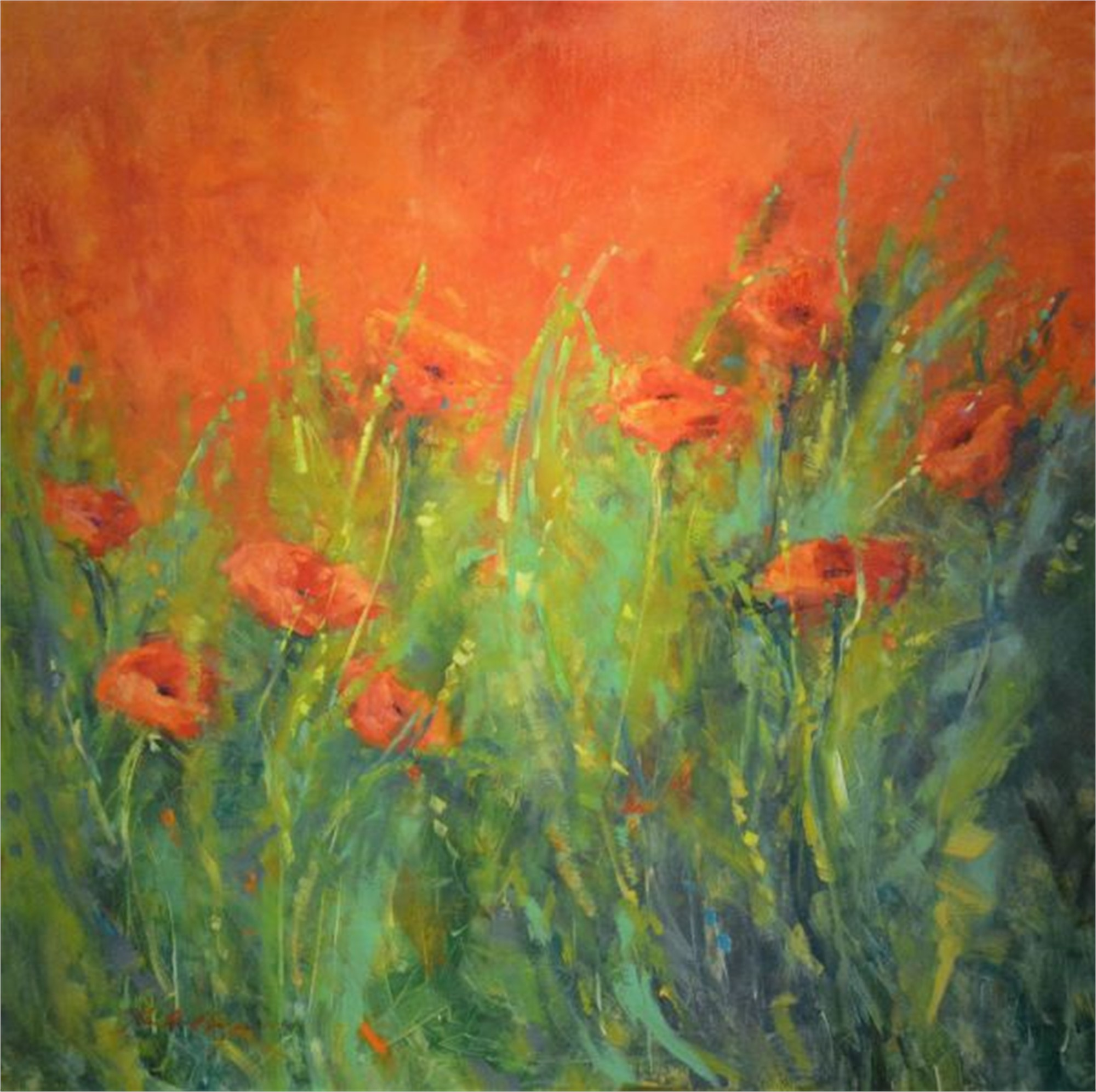 More Than Enough Love (Italian Poppies) by Karen Hewitt Hagan