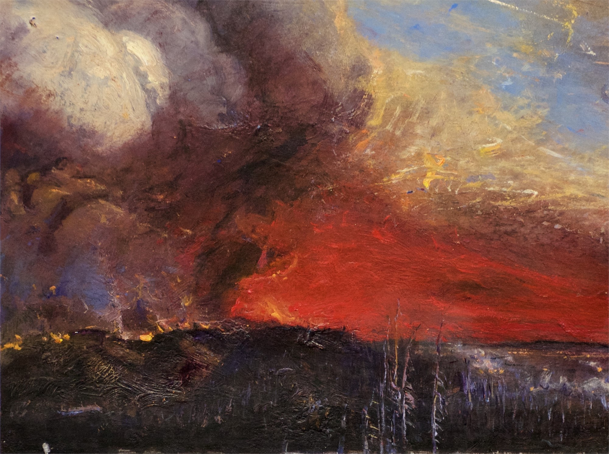 Fire Cloud by Gordon Brown