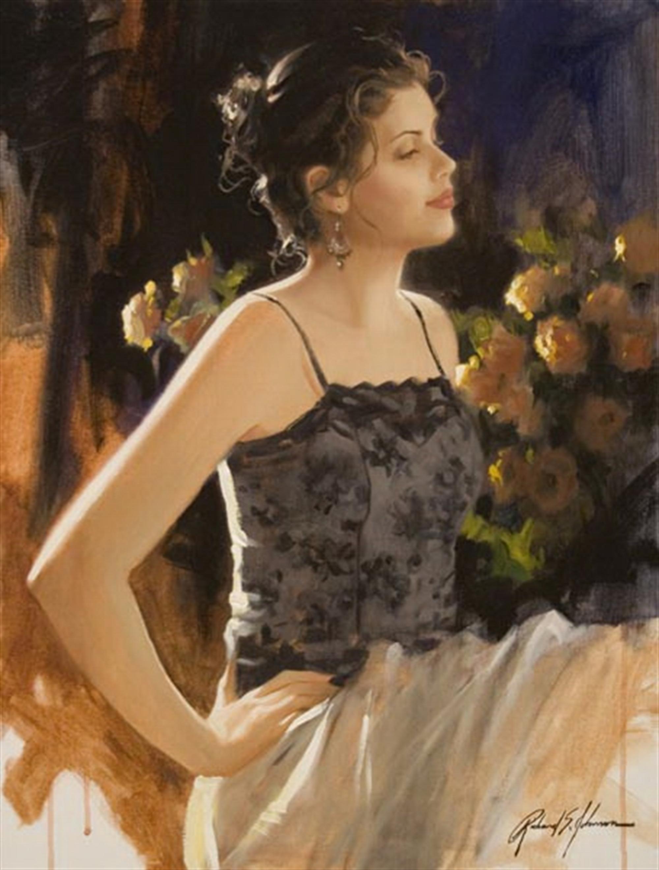 Evening Rose by Richard Johnson