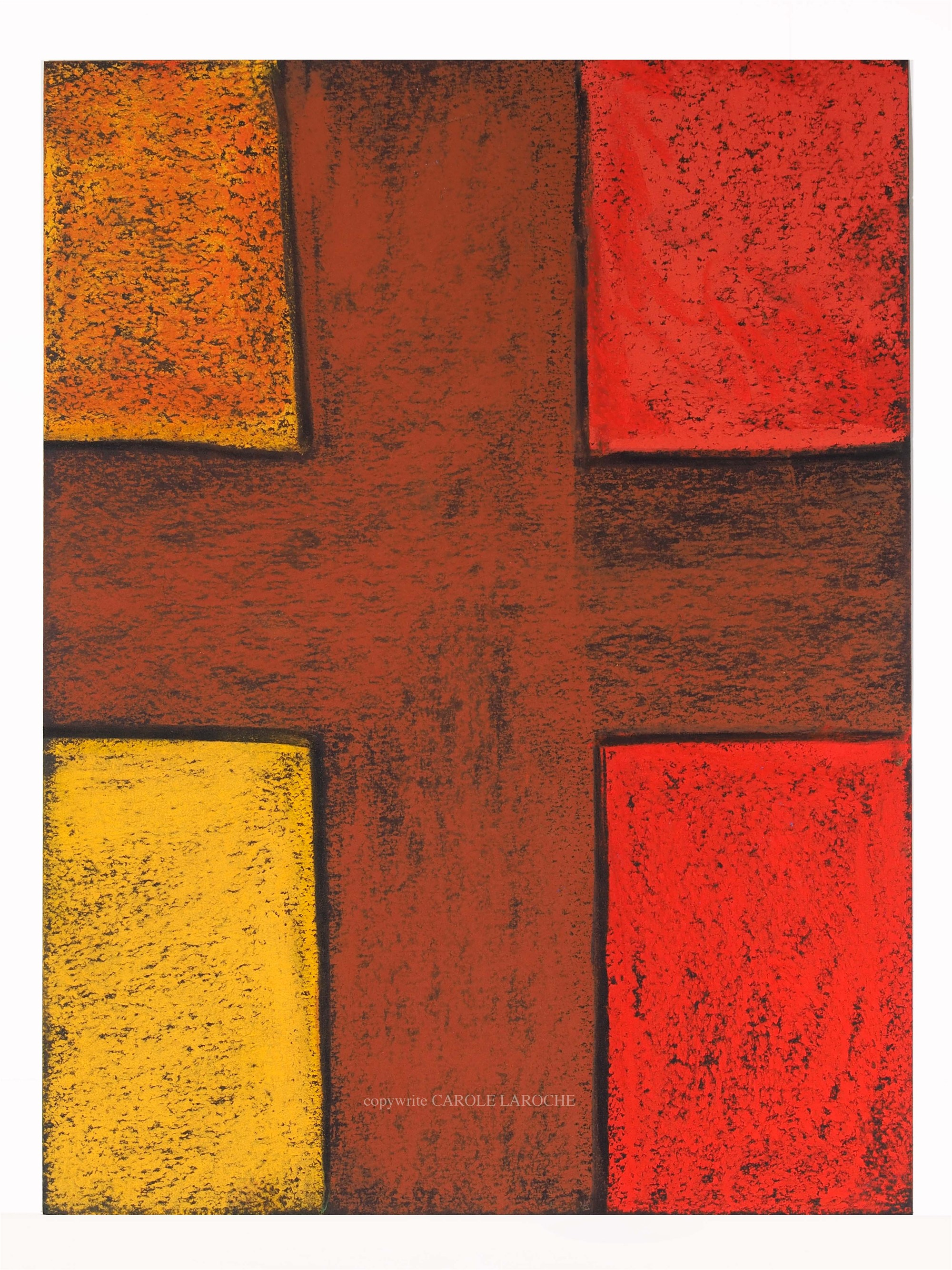 LAS CRUCES III by Carole LaRoche