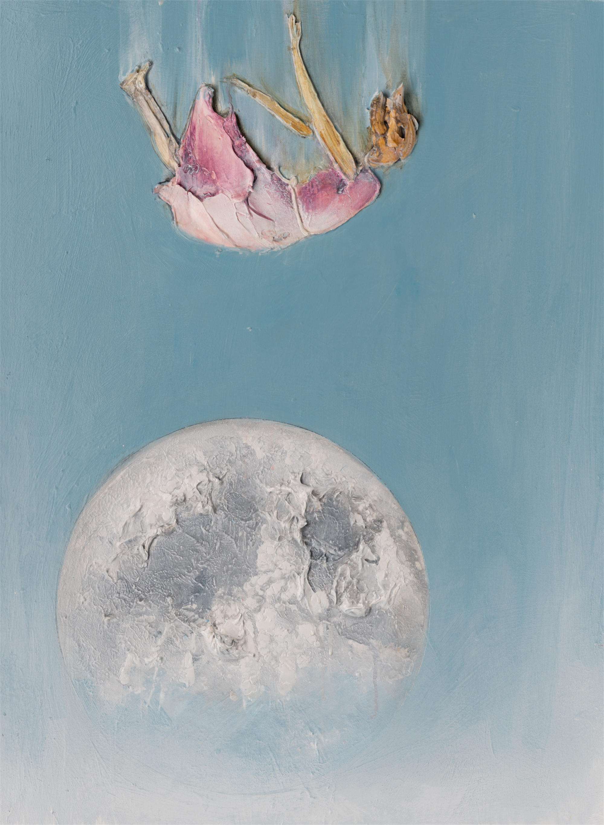 LADY MOON 2 MS-30X40-2019-314 by JUSTIN GAFFREY