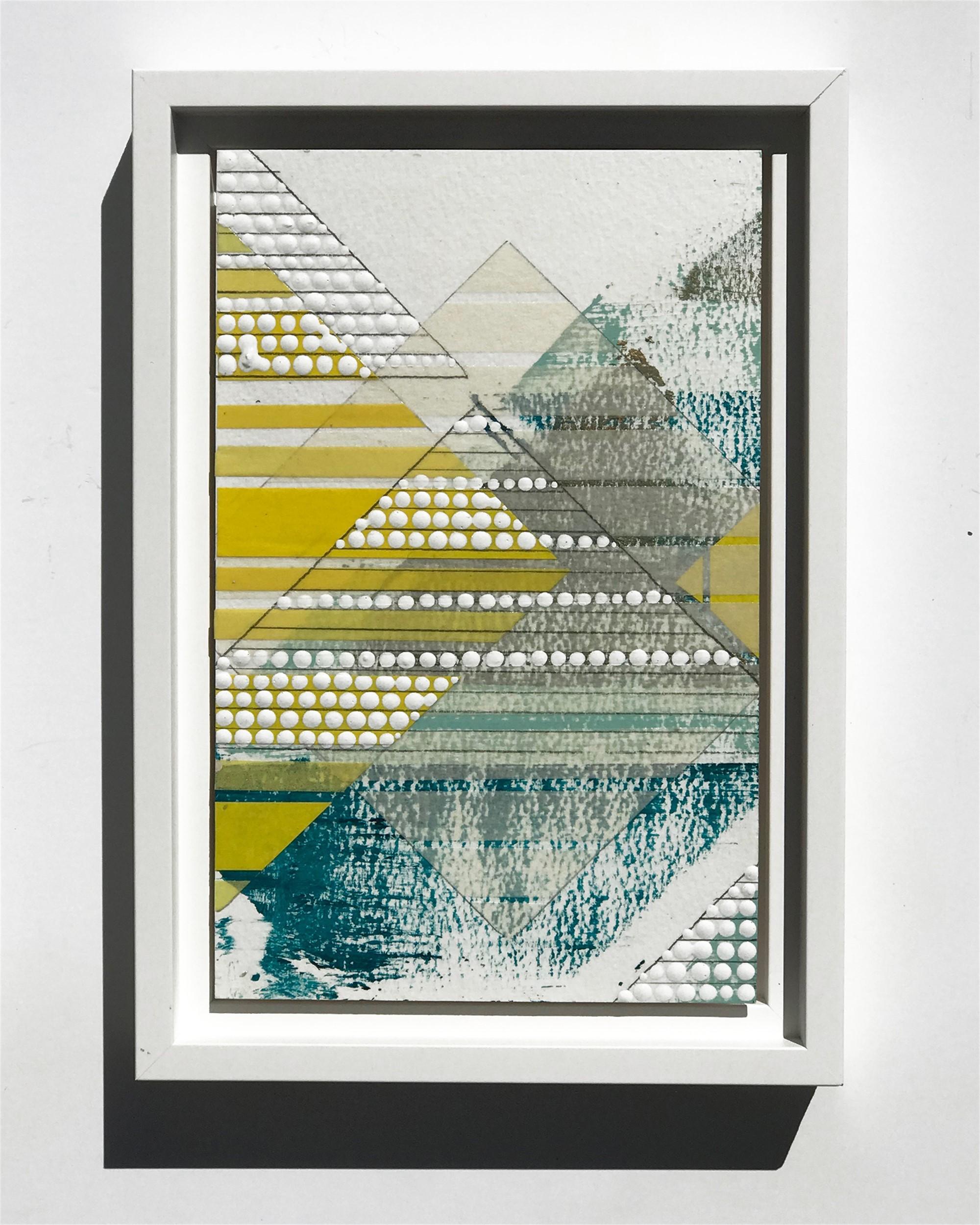 Diamond 1, Yellow, Study No.77 by Nina Tichava