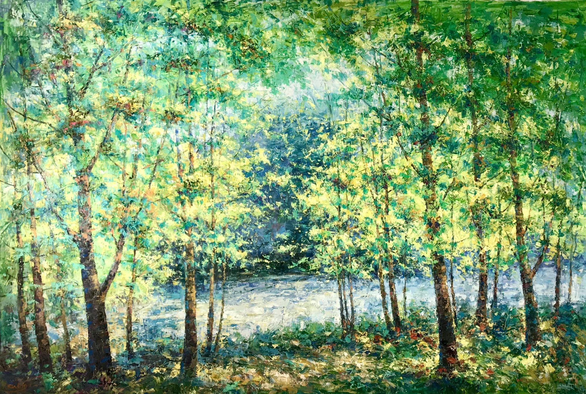 TREES BY THE RIVER by RODRIGO
