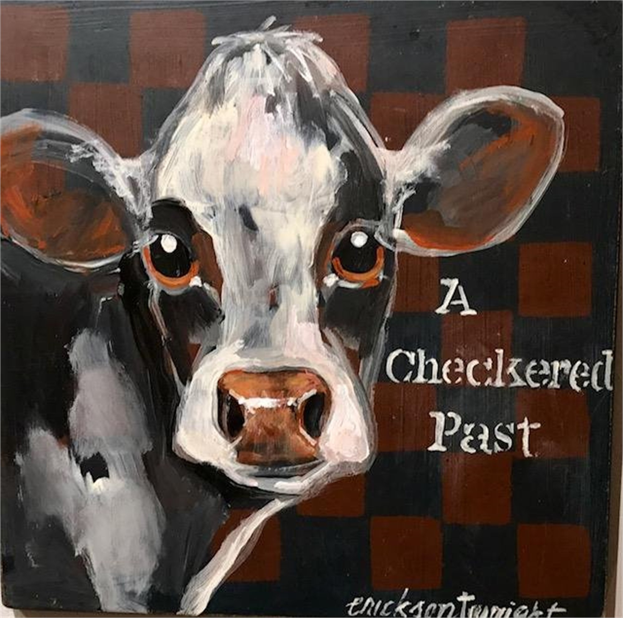 Checkered Past by Sandra Erickson Wright