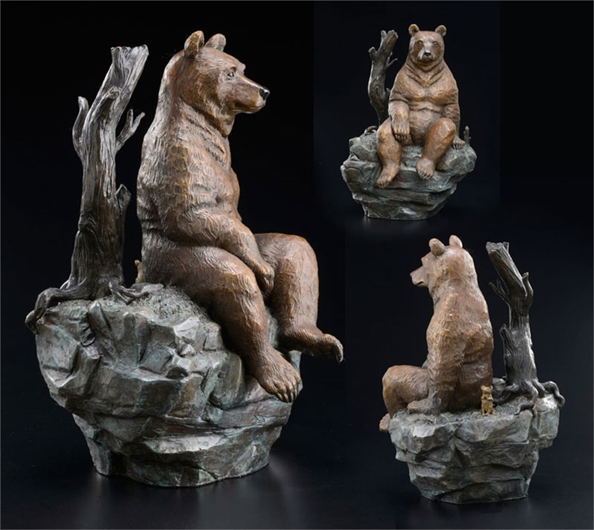 Contemplation (Sculpture) by Robert Bissell