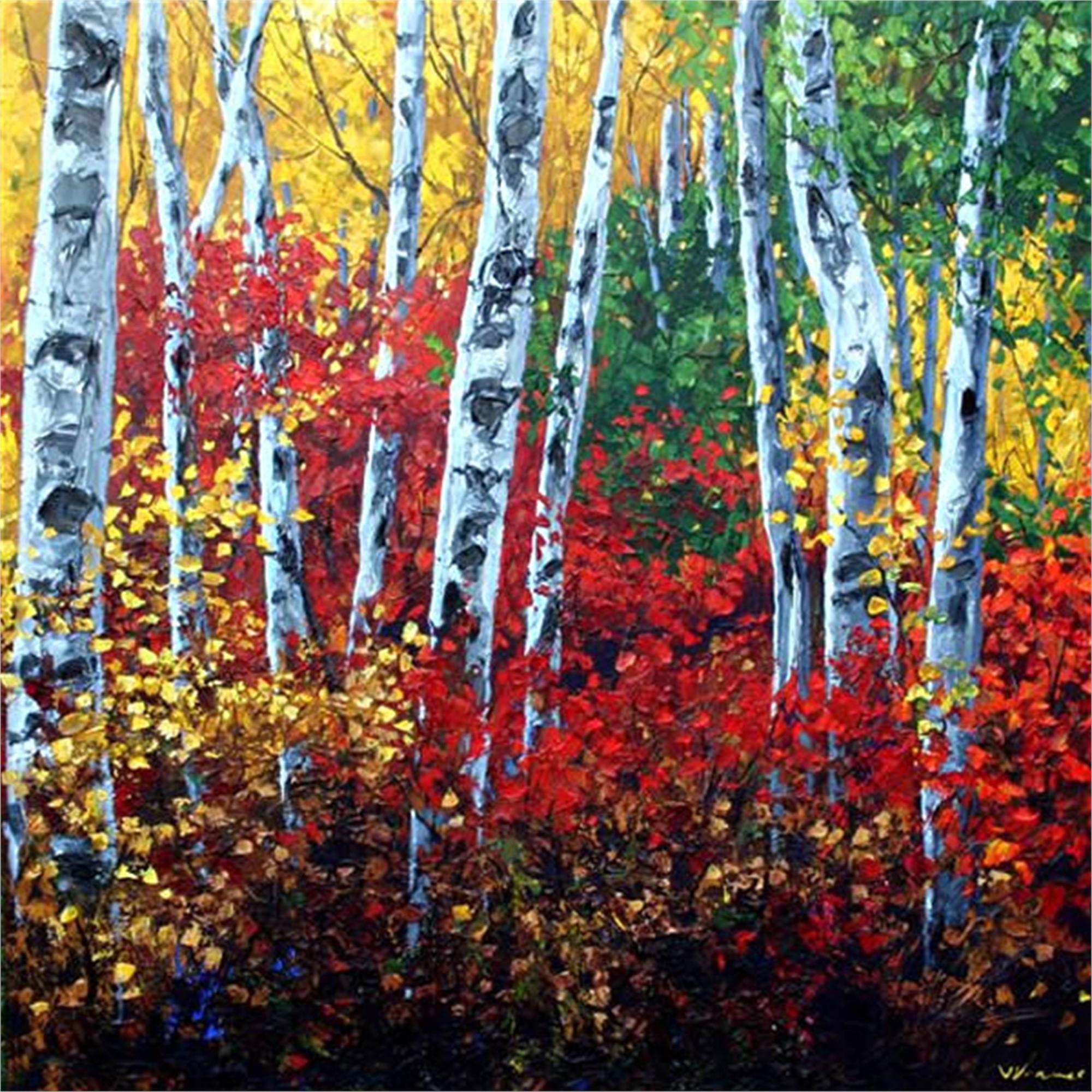 Autumn's Paintbrush by Jennifer Vranes