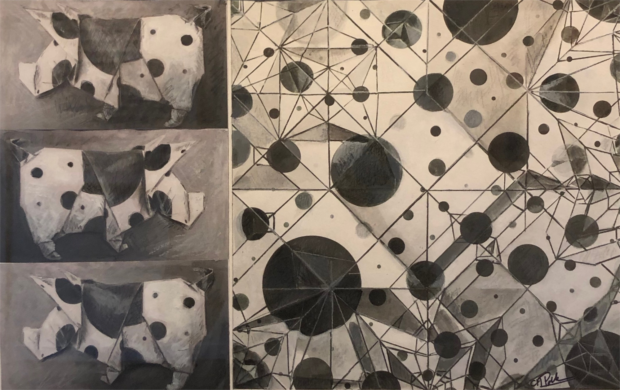 Year of the Pig III by Chun Hui Pak