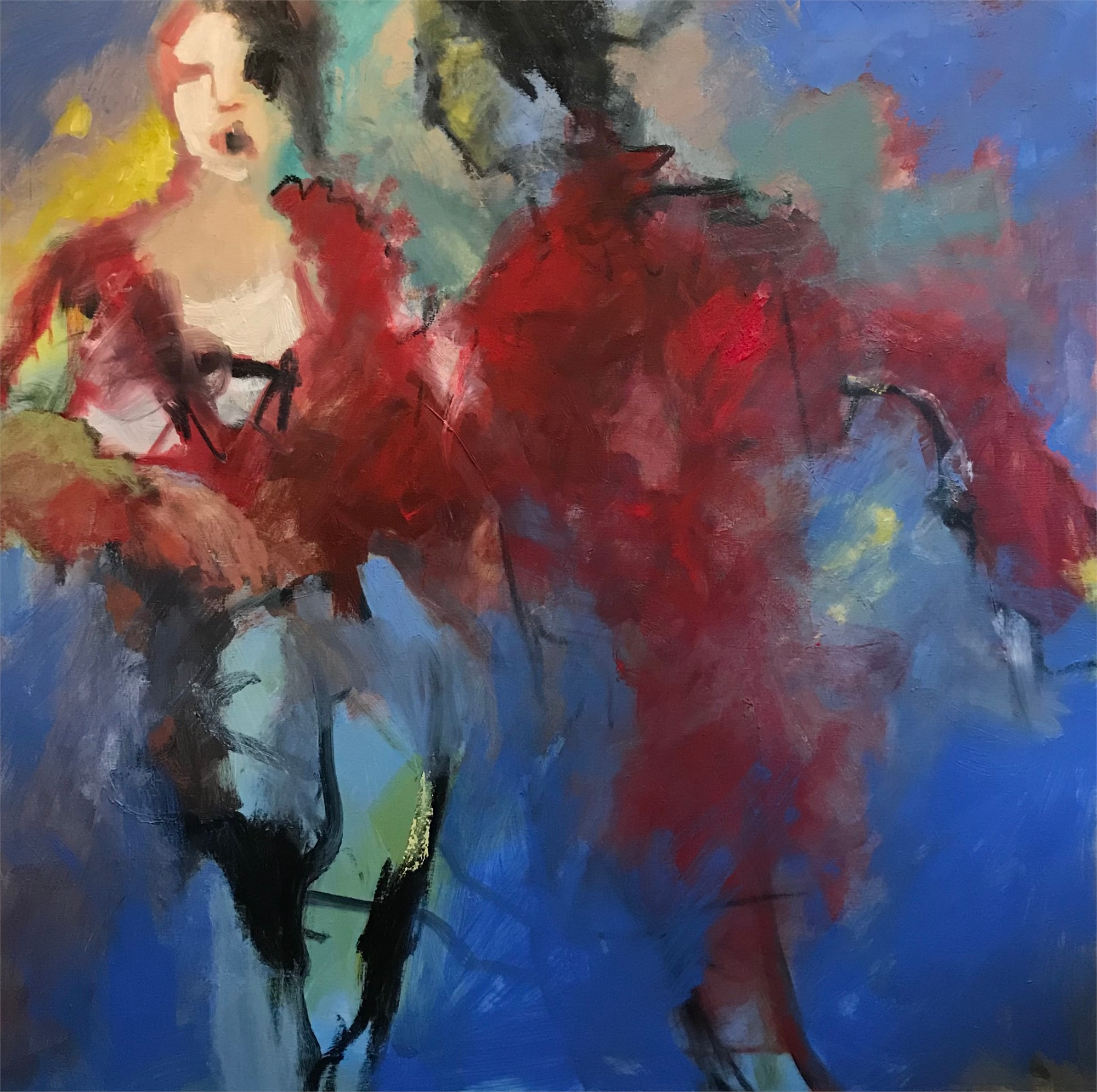 Eurydice and Orpheus by Betsy Havens