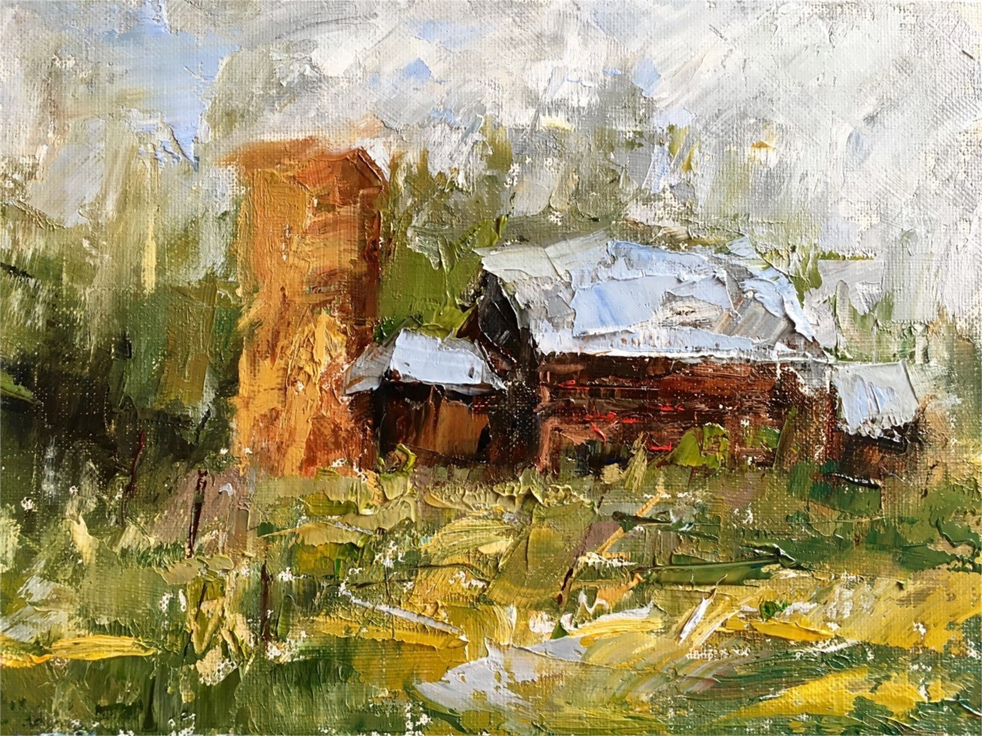 Homestead by Sandra Pratt