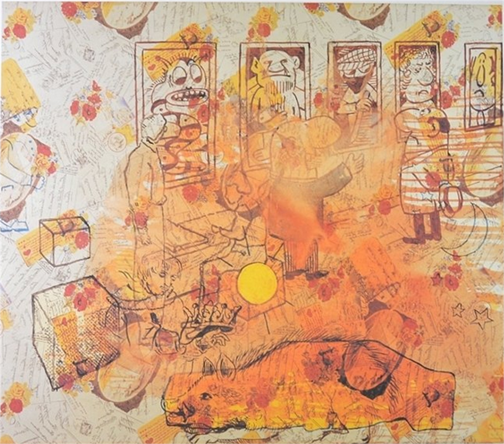 Ahnengalerie by Sigmar Polke