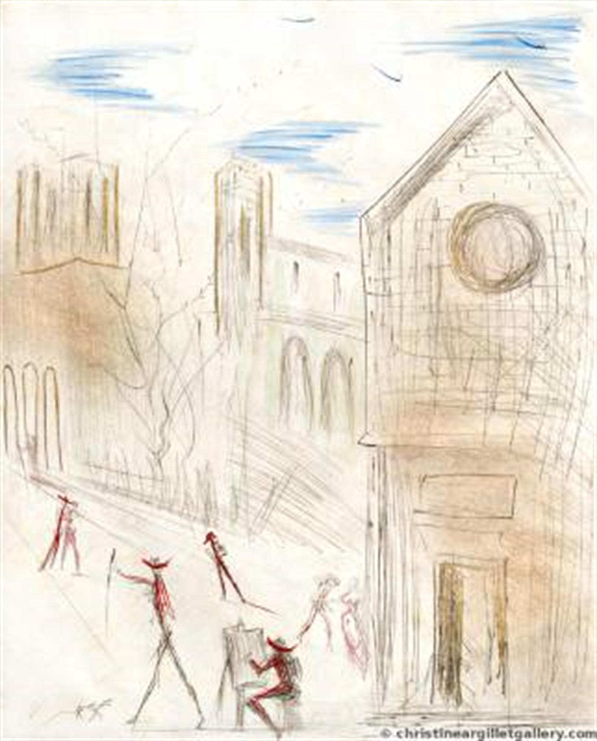 St Julien by Salvador Dali