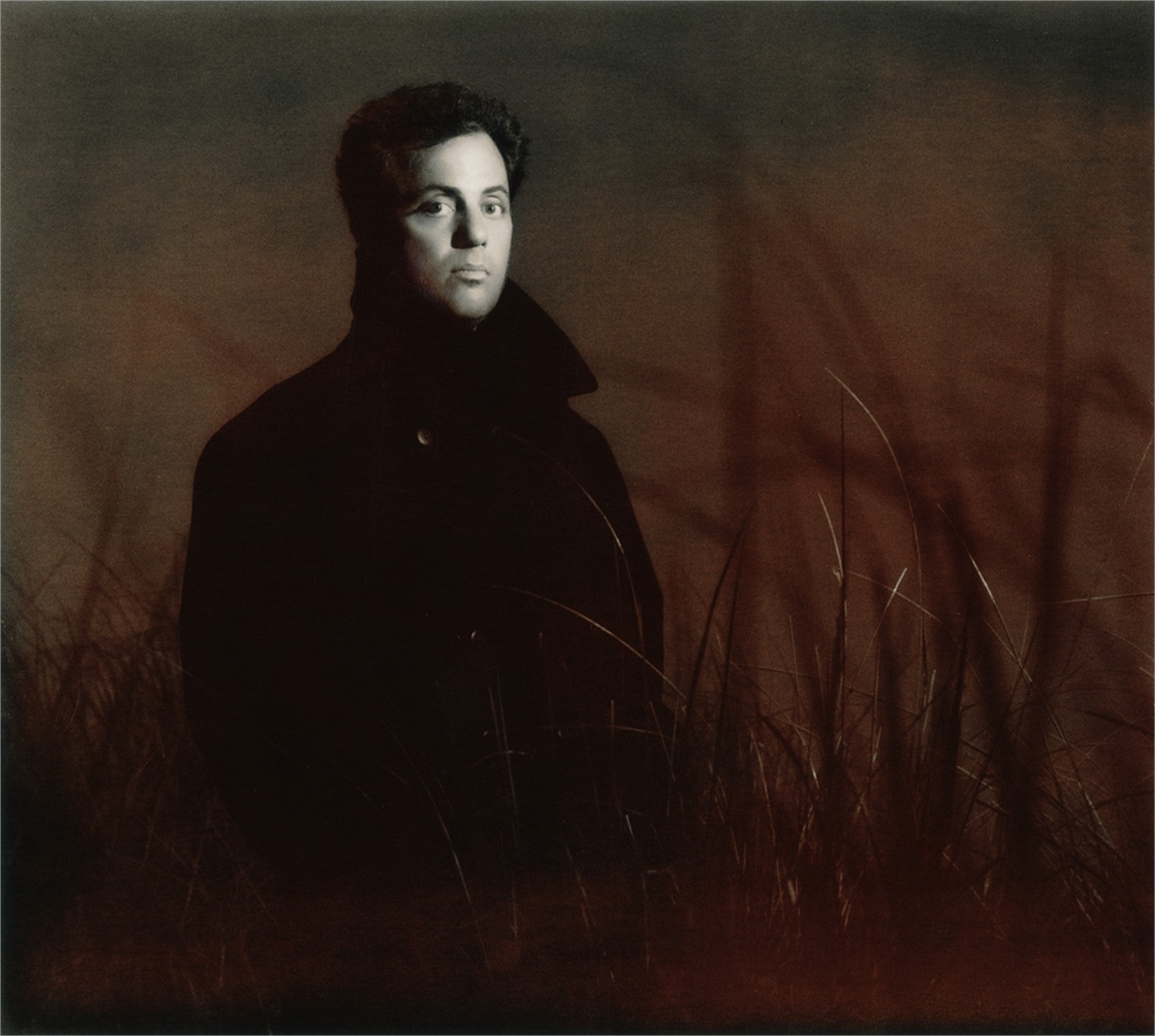 89134 Billy Joel in Coat BW by Timothy White