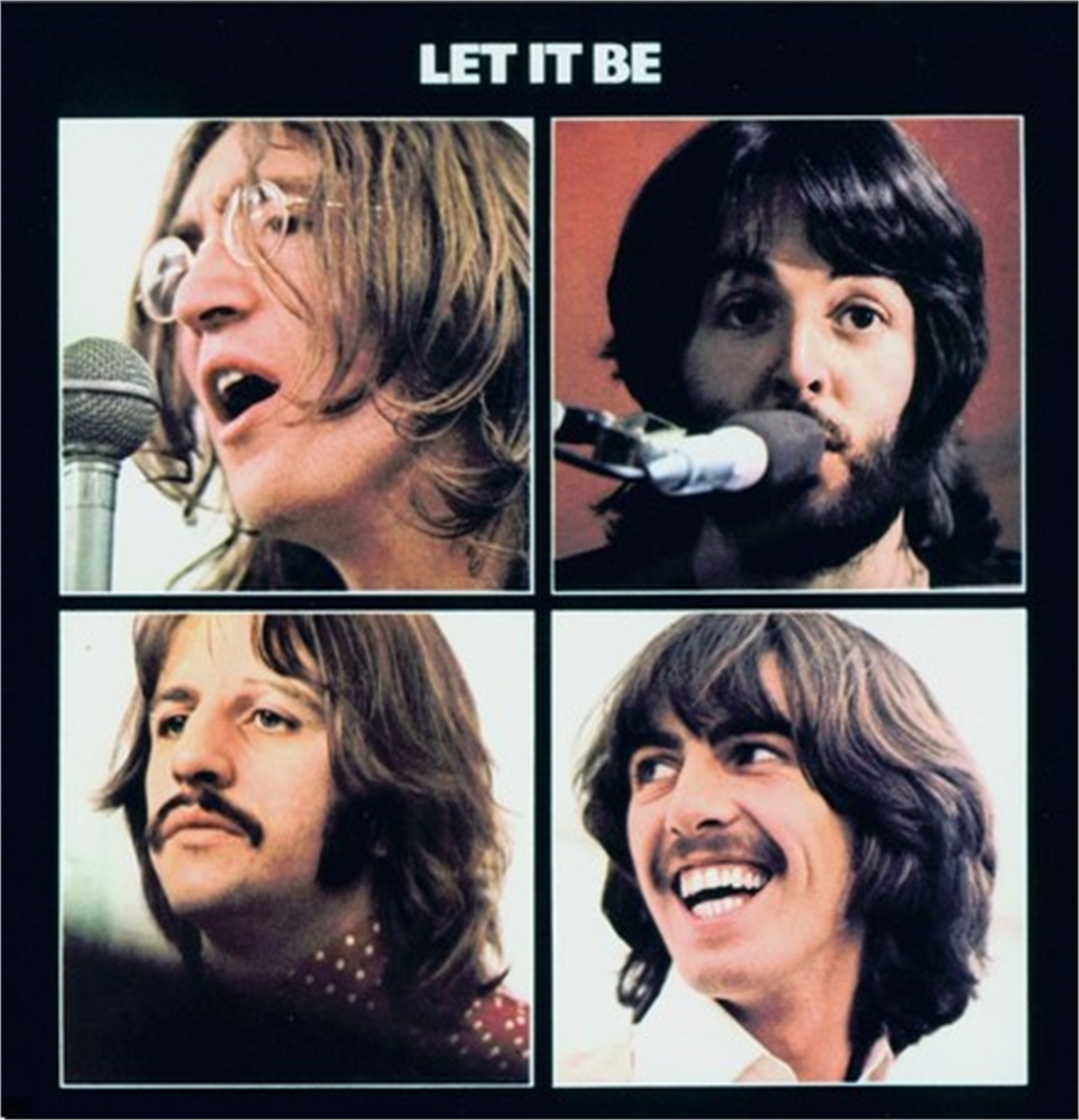 """Let It Be"" - Beatles Album Cover - Hollywood Sign Commission by Bill Mack"