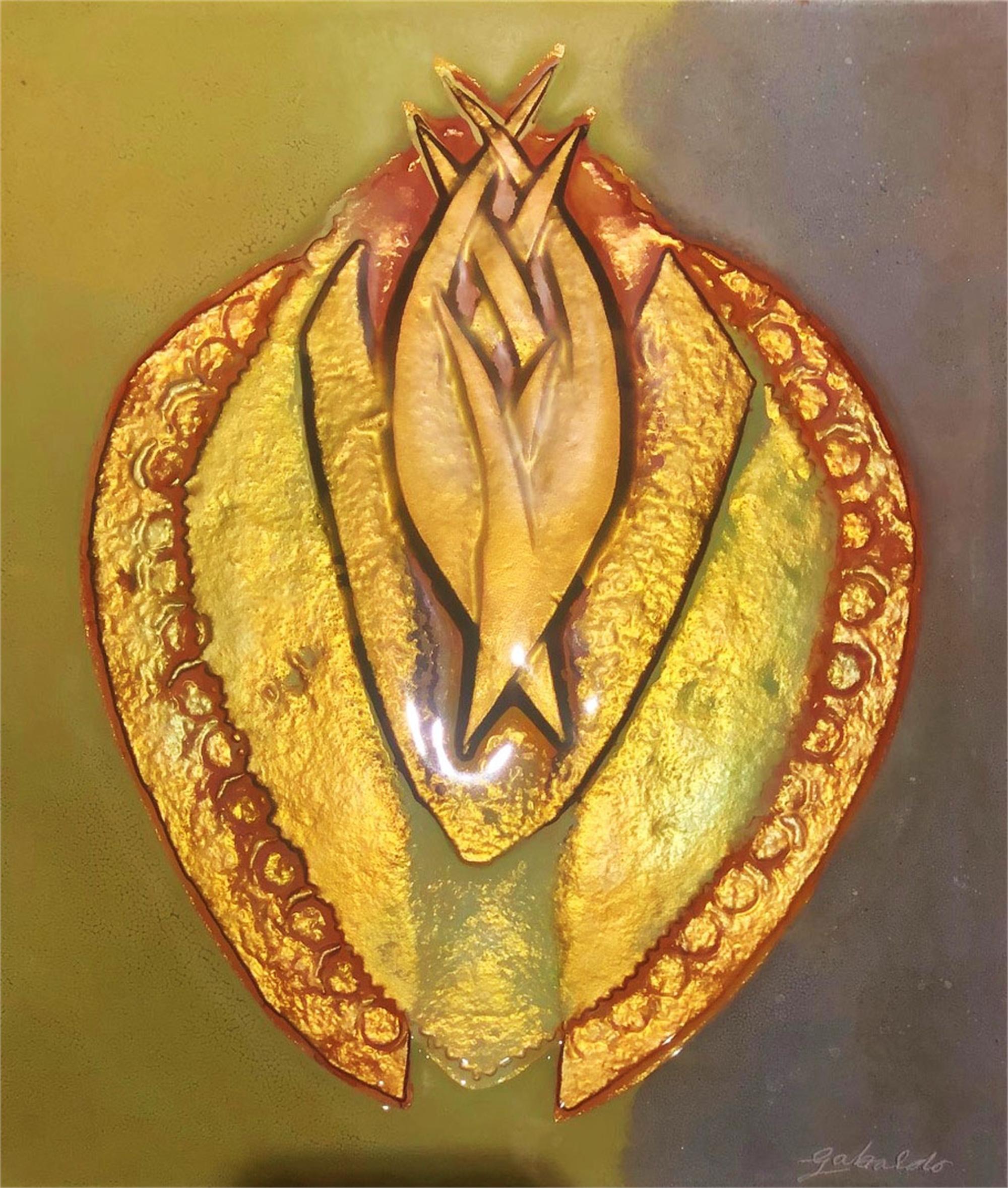 Thistle Pod by Virginia Gabaldo
