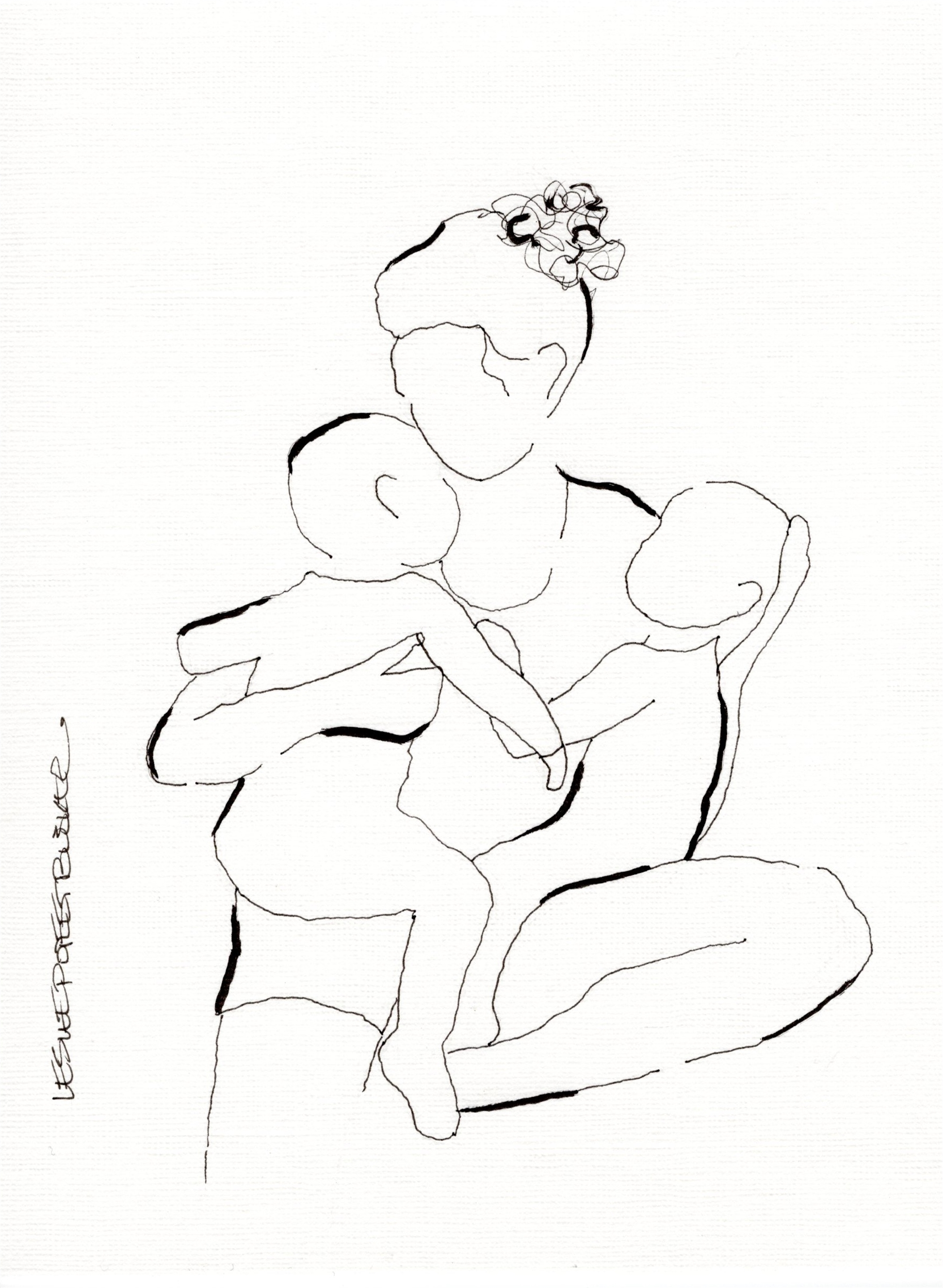 Mother and Child No. 5 by Leslie Poteet Busker
